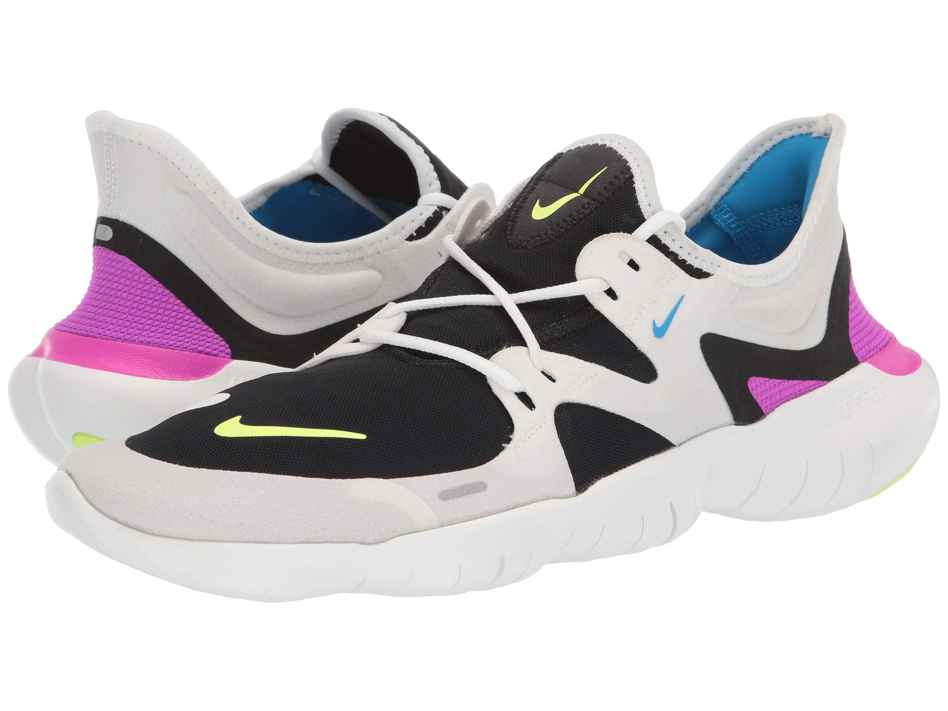 a88f2d406a485 Nike. Free Rn 5.0 (summit White volt Glow black blue Hero) Men s Running  Shoes