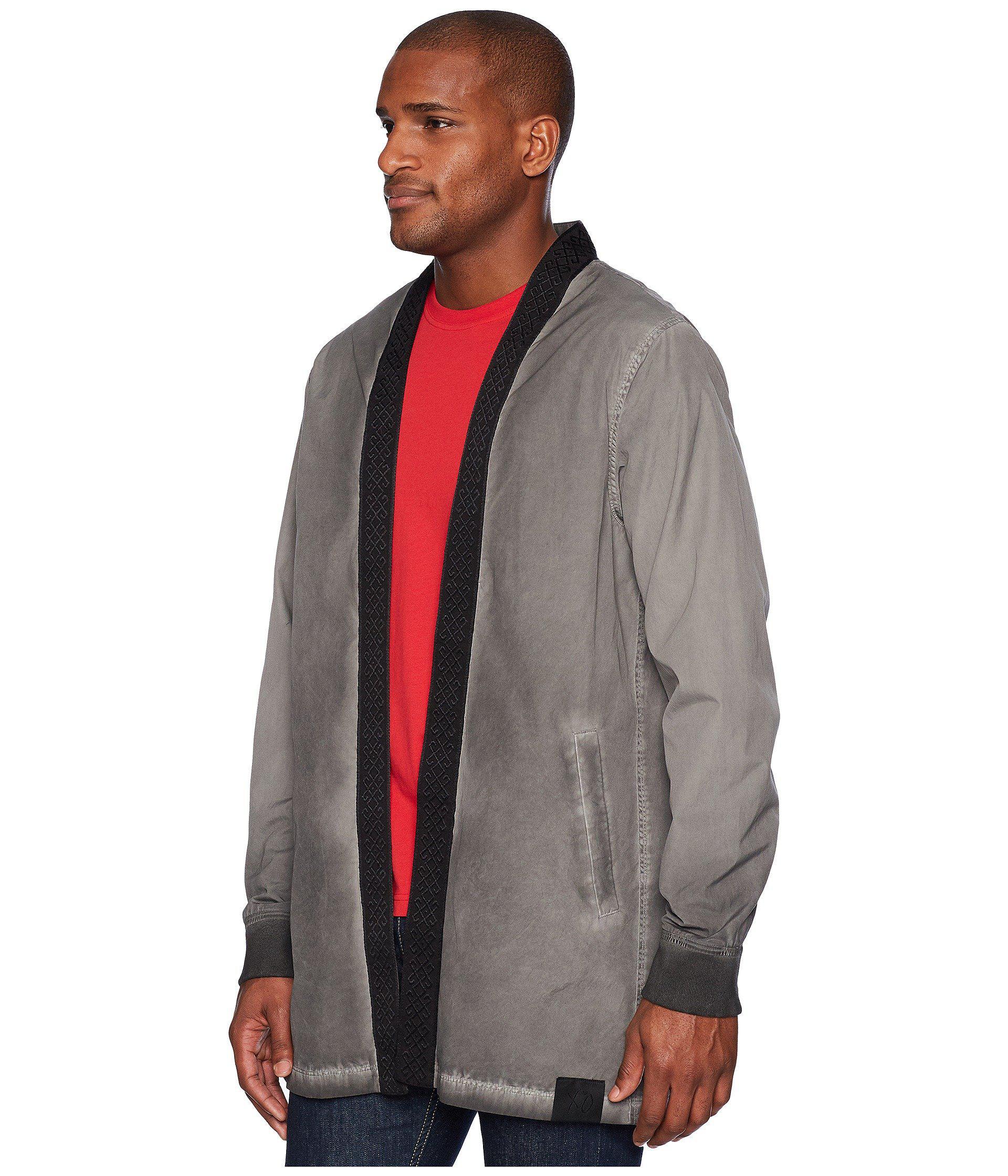 75b60cf0c PUMA X Xo Kimono (asphalt) Men's Clothing in Gray for Men - Lyst