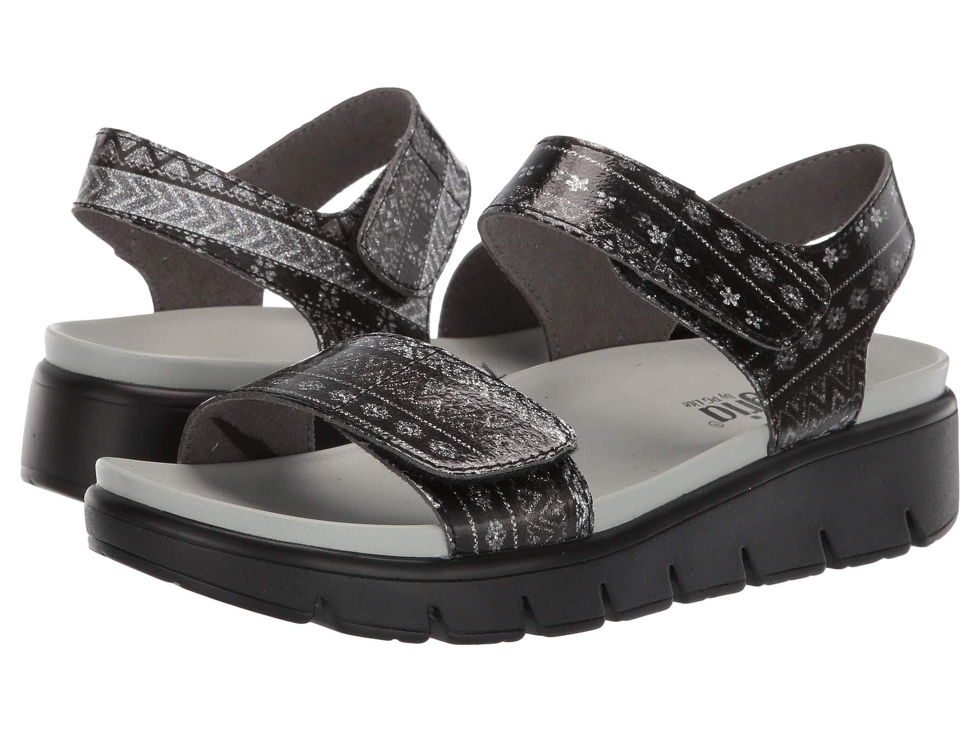 4fdc7d4f901ce7 Lyst - Alegria Playa (pewter Patent) Women s Shoes