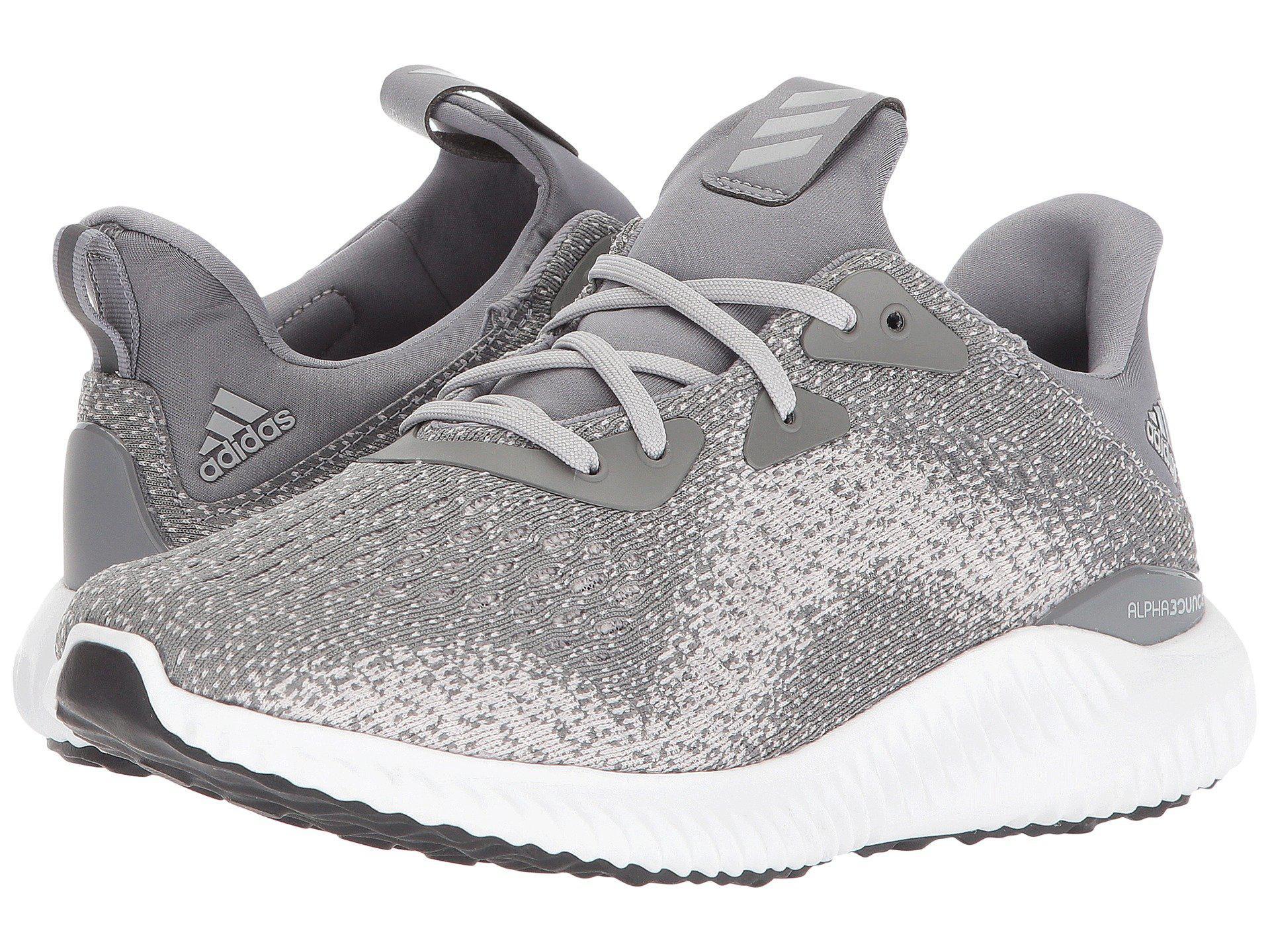 timeless design a0830 c5b29 adidas Originals. Gray Alphabounce 1 (carbonchalk Pearlcarbon) Womens  Shoes