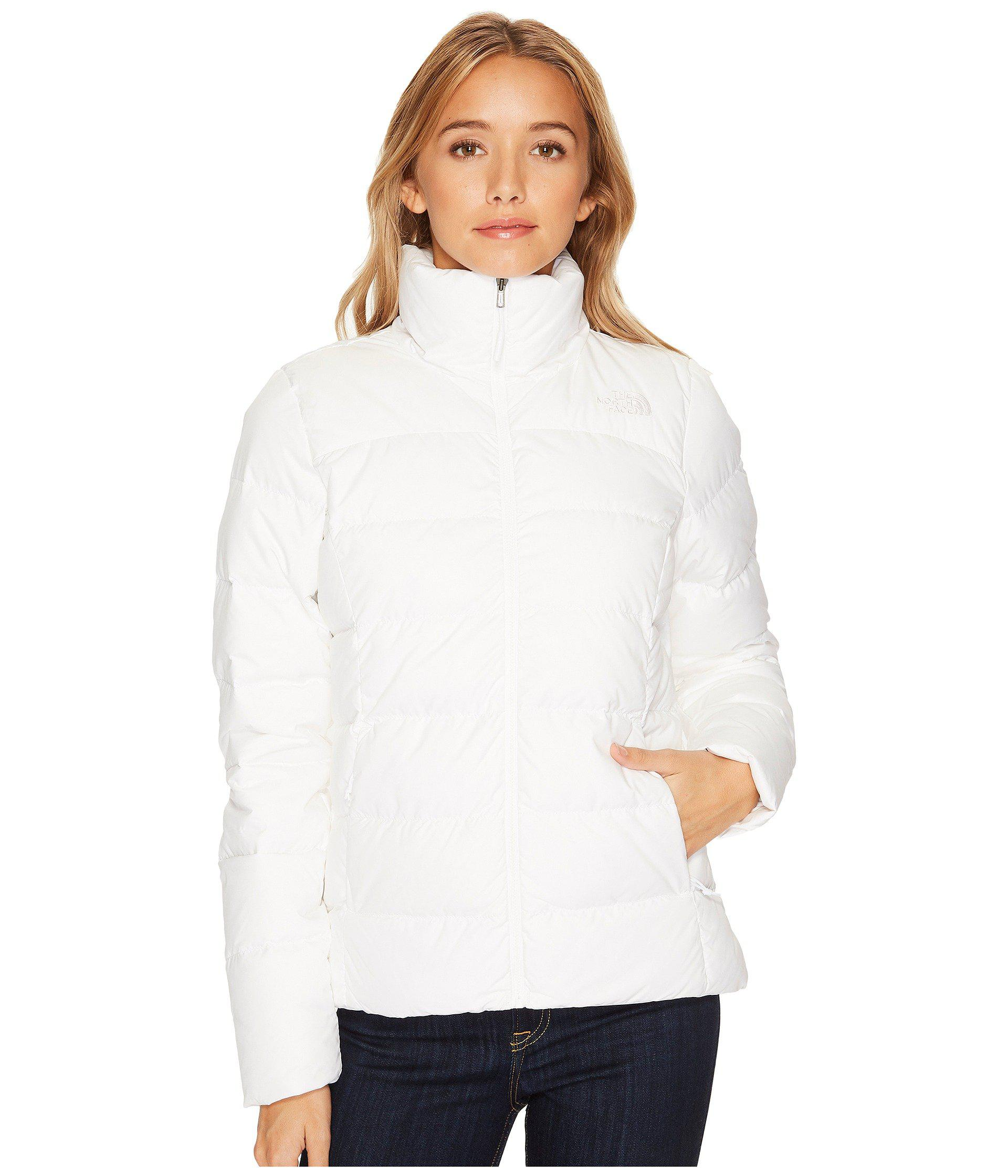 Lyst - The North Face Nuptse Jacket (tnf White) Women s Jacket in ... e84215420