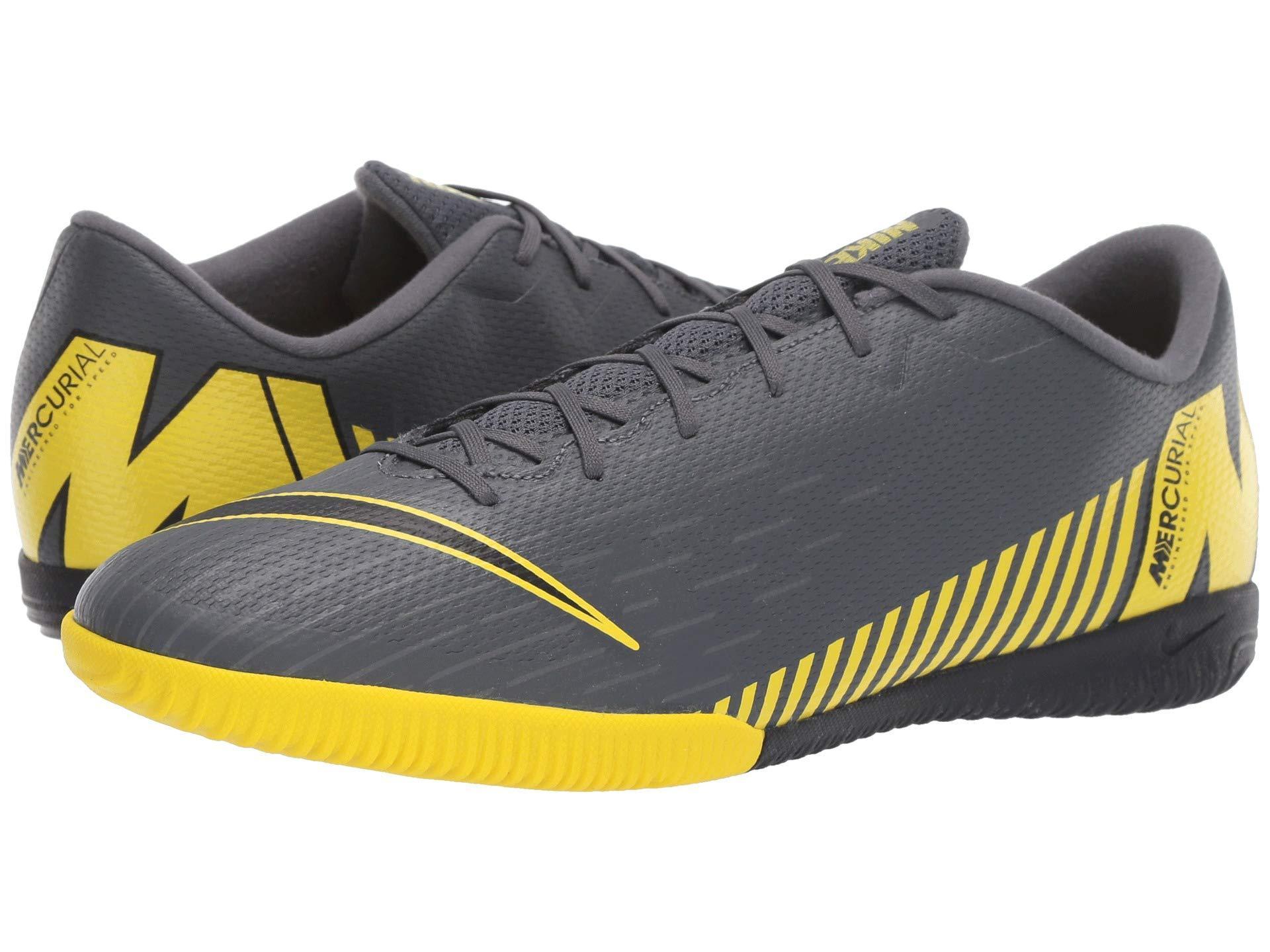 c034f87f2710 Lyst - Nike Vaporx 12 Academy Ic (dark Grey/black/opti Yellow) Men's ...
