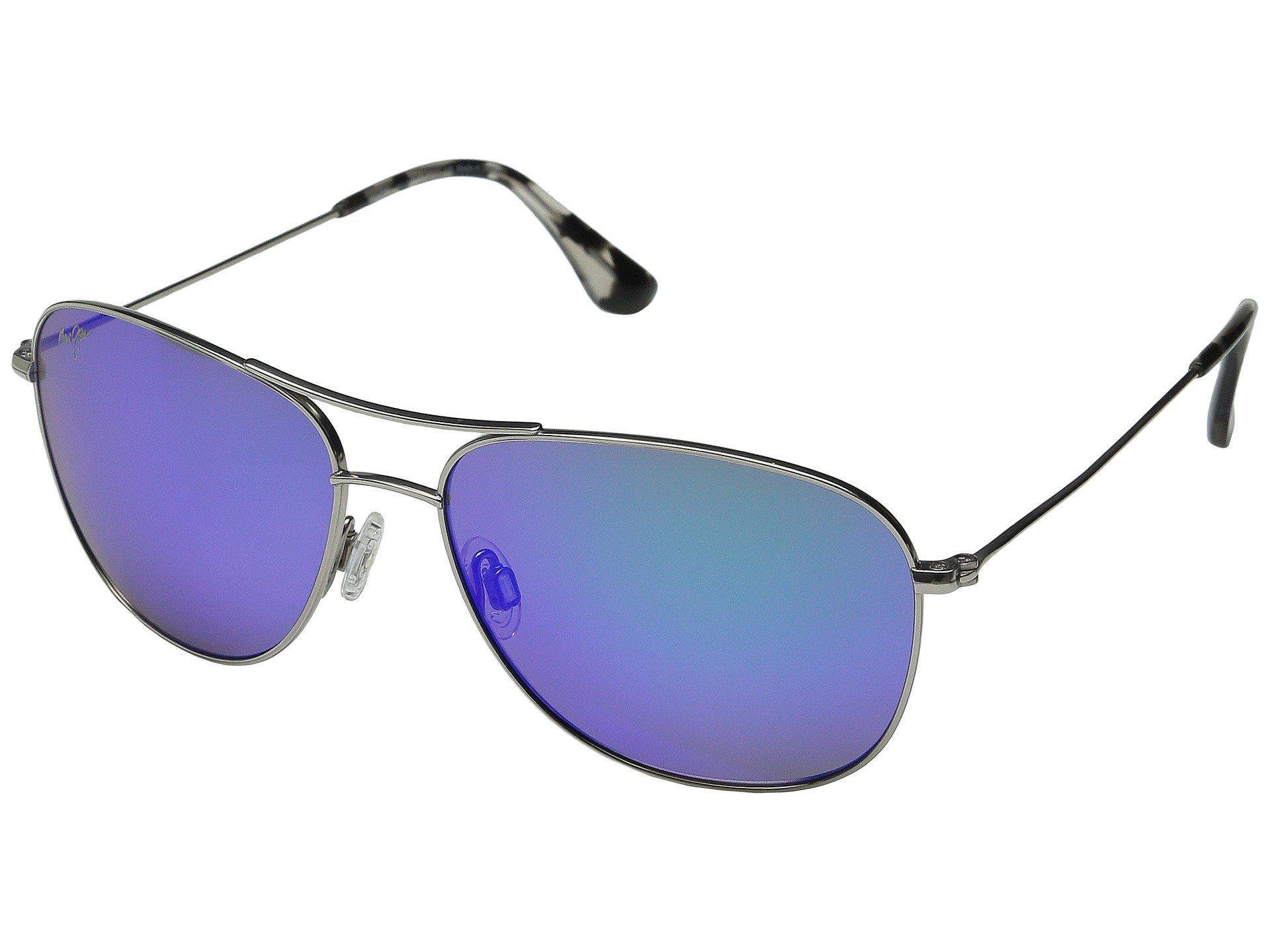 e94980a1279 Lyst - Maui Jim Cliff House (silver blue Hawaii) Sport Sunglasses in ...