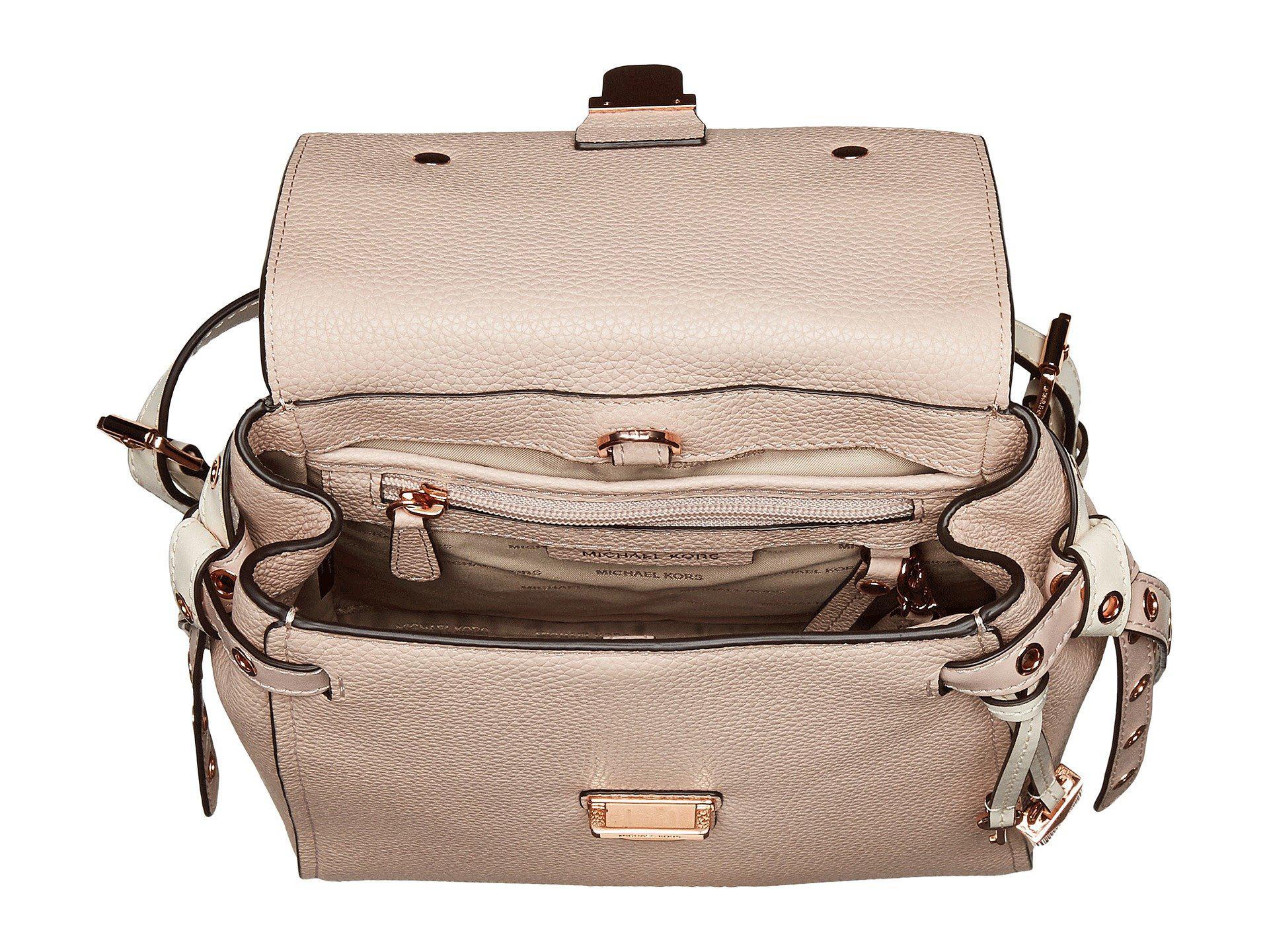 40e2c30c585c9b MICHAEL Michael Kors Bag 送料無料 Soft Pink/Light Crea Bristol .