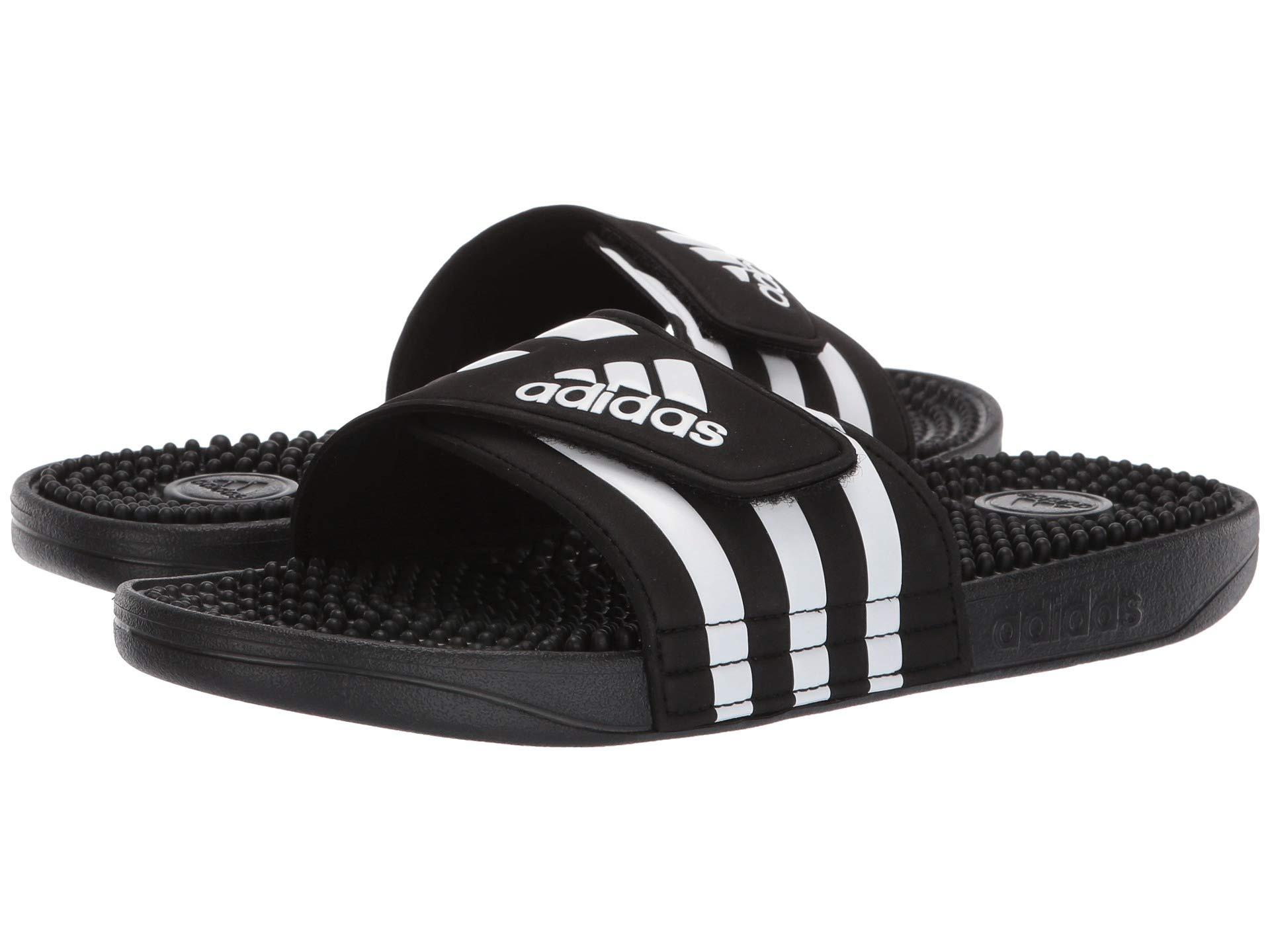 1426322784860 Adidas - Black Adissage (chalk Pink white chalk Pink) Women s Sandals -.  View fullscreen
