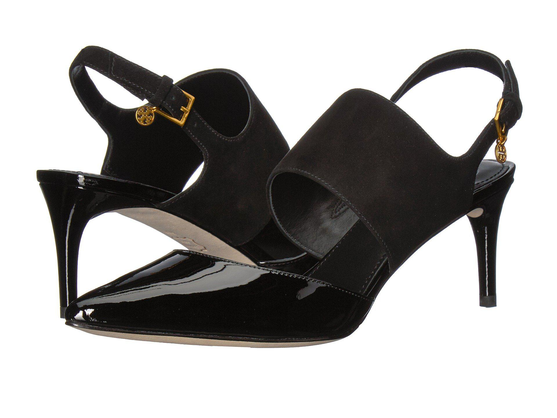 389697467be Lyst - Tory Burch Ashton 65mm Sandal in Black