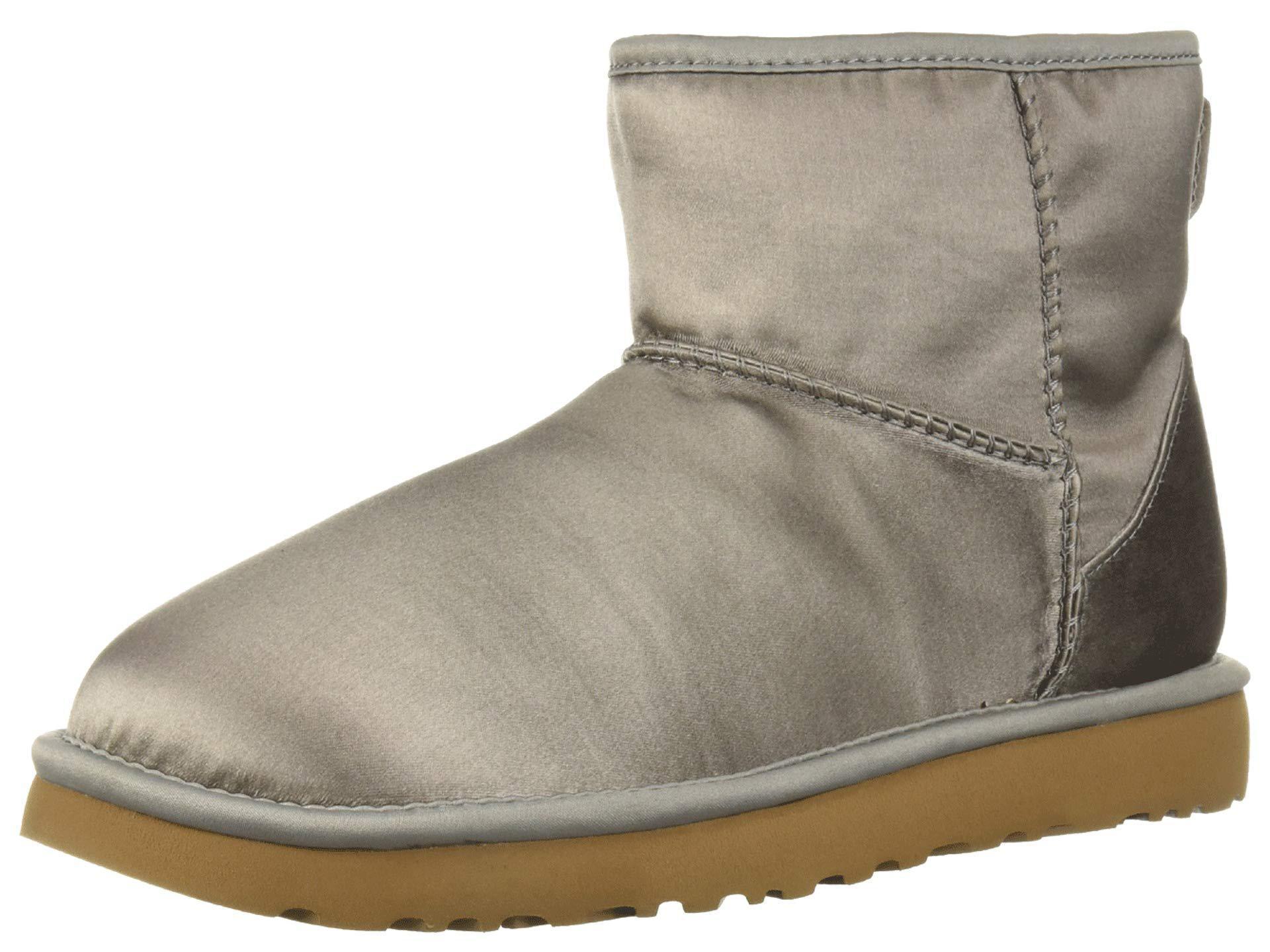 61541ac3284e Lyst - UGG Classic Mini Satin (elephant) Women s Pull-on Boots