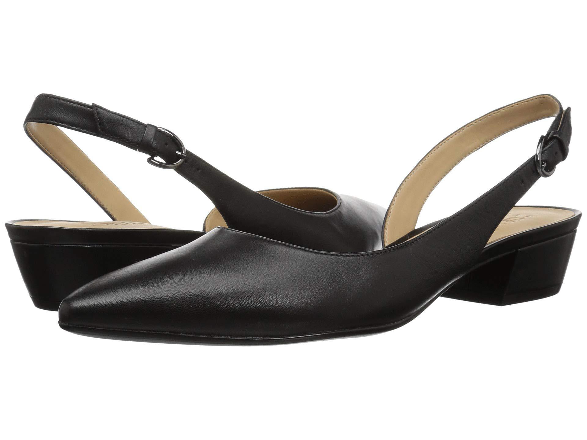 963a66484c8 Lyst - Naturalizer Banks Slingback Sandals in Black - Save 1%