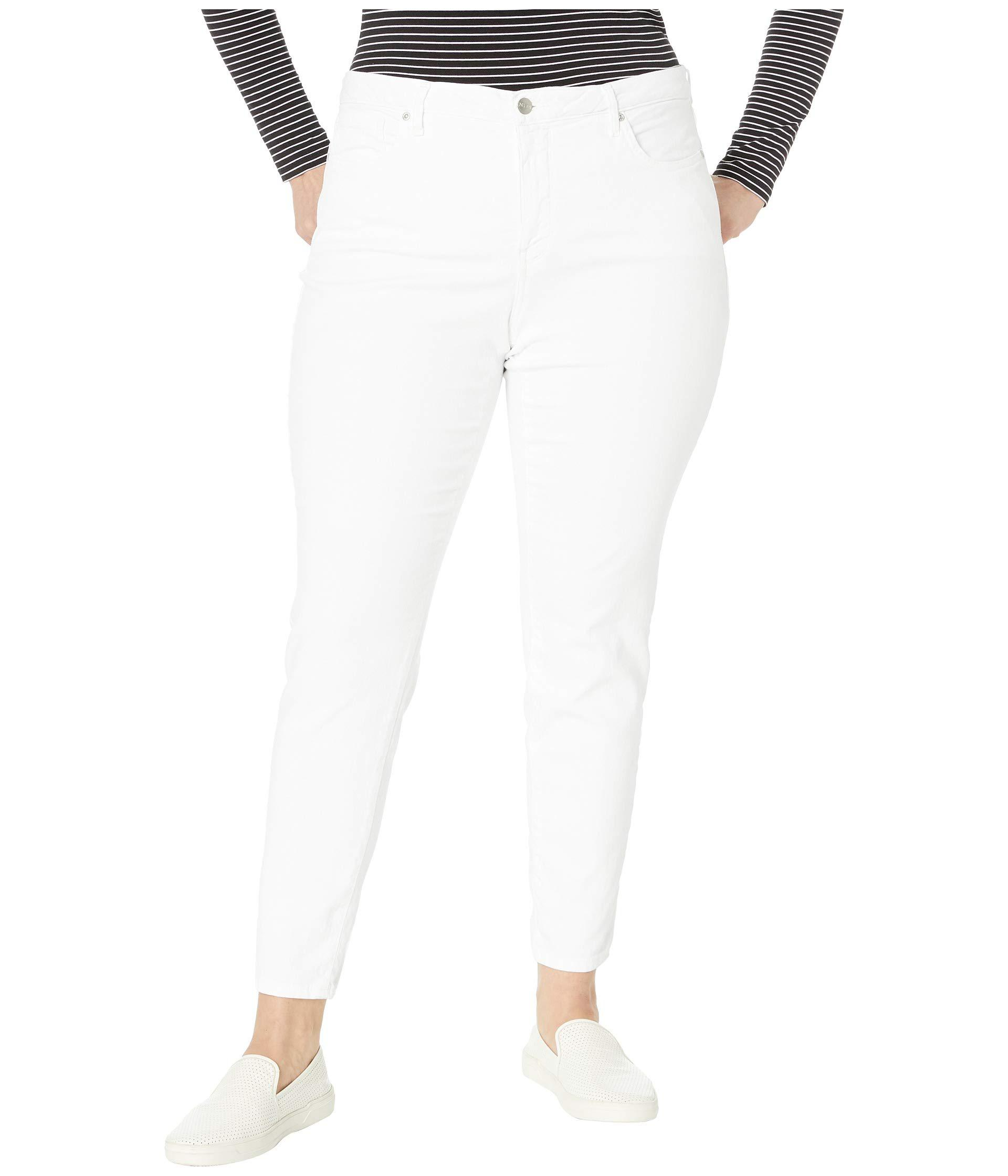 5dd48612029 NYDJ. Plus Size Ami Skinny In Optic White (optic White) Women s Jeans