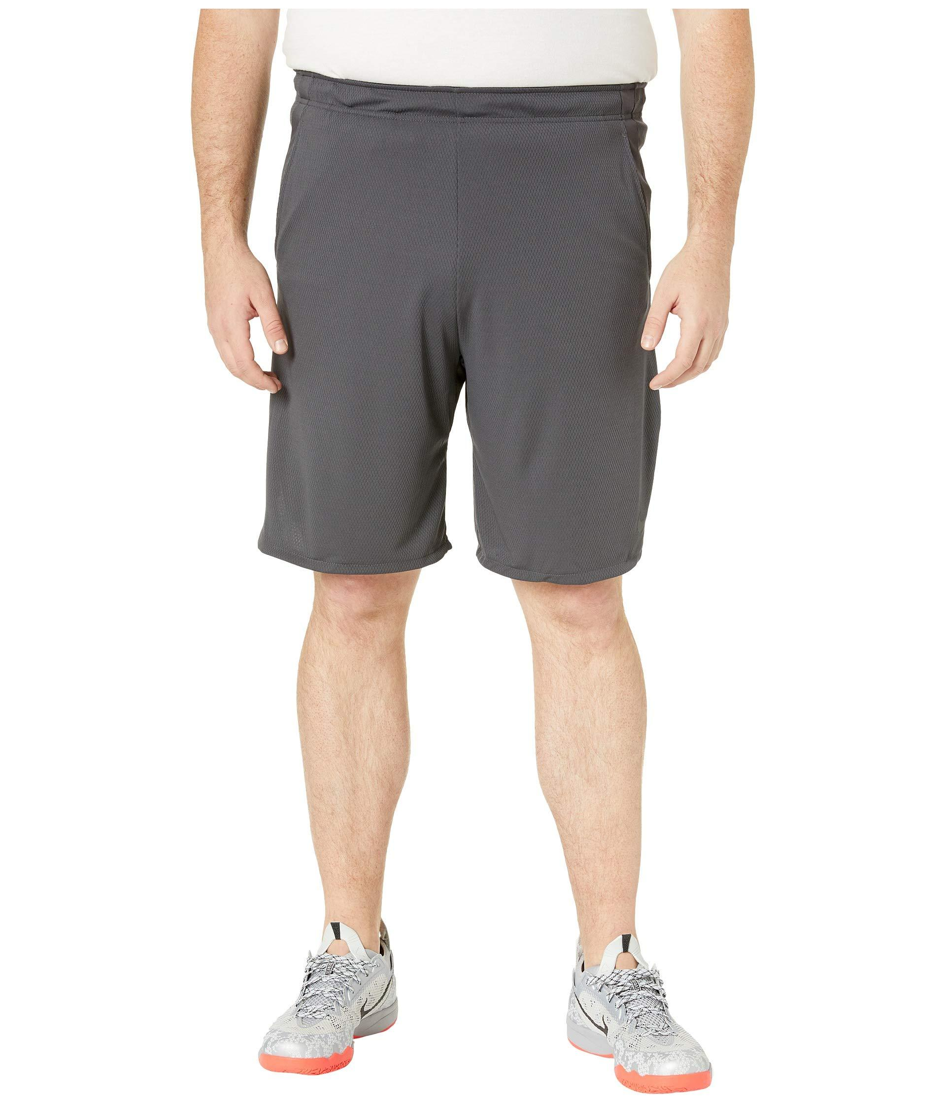 in stock a3003 6cdeb Nike. Gray Big Tall Dry Shorts 4.0 ...