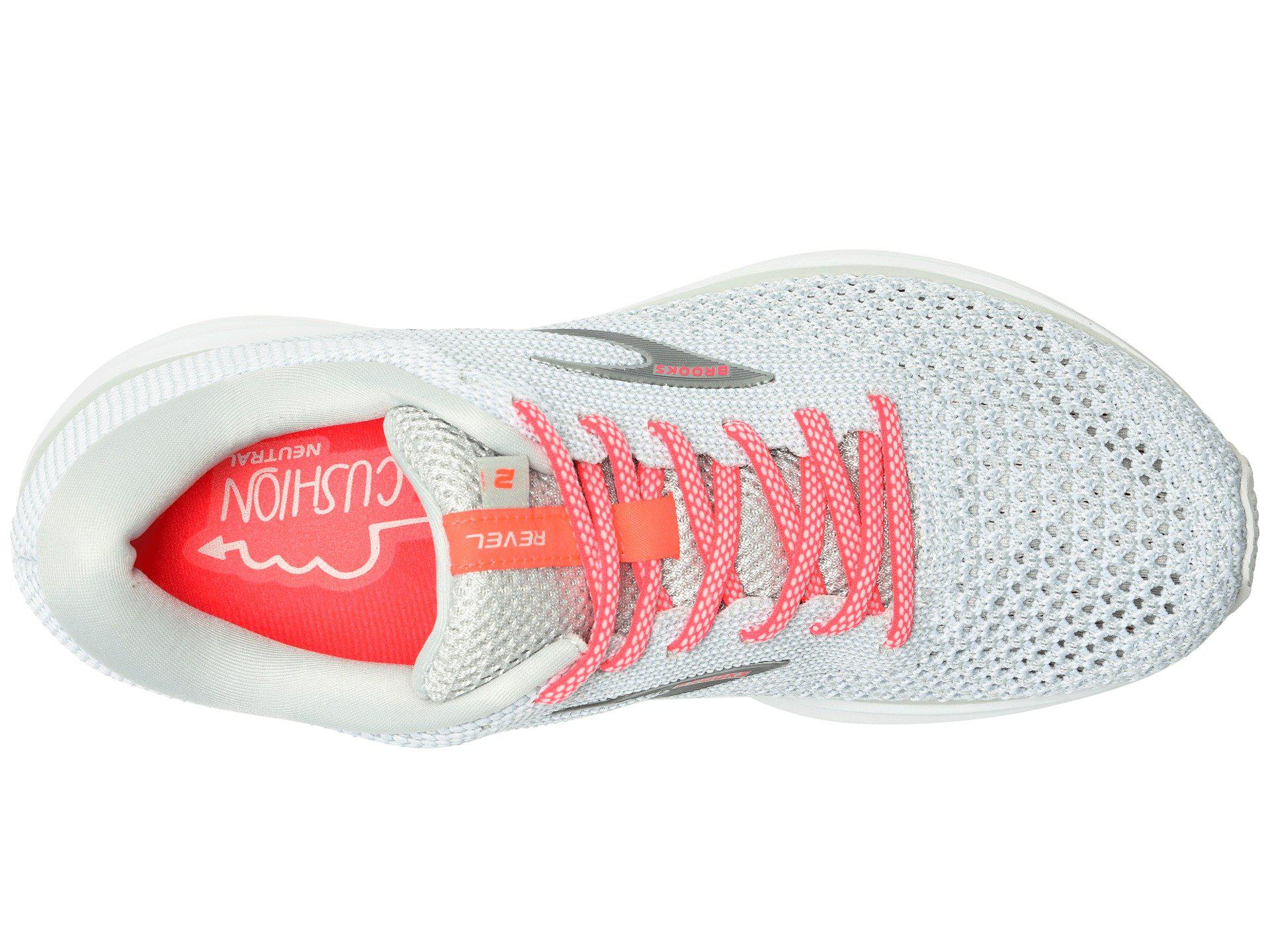 7b549634c4cd0 Brooks - Multicolor Revel 2 (black light Grey coral) Women s Running Shoes.  View fullscreen