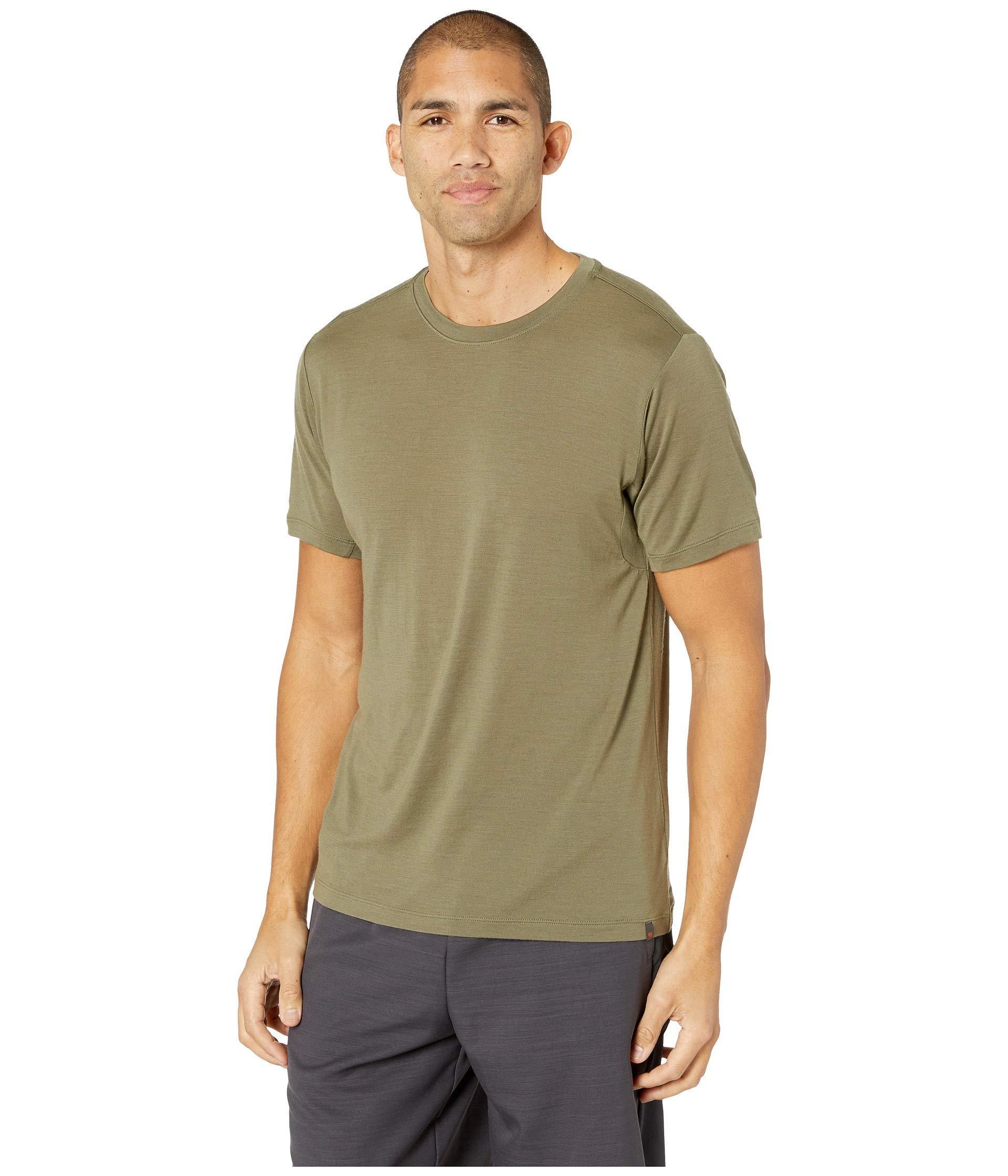 b0cb964e Lyst - Mountain Hardwear Diamond Peaktm Short Sleeve Tee (zinc) Men's  Clothing in Green for Men