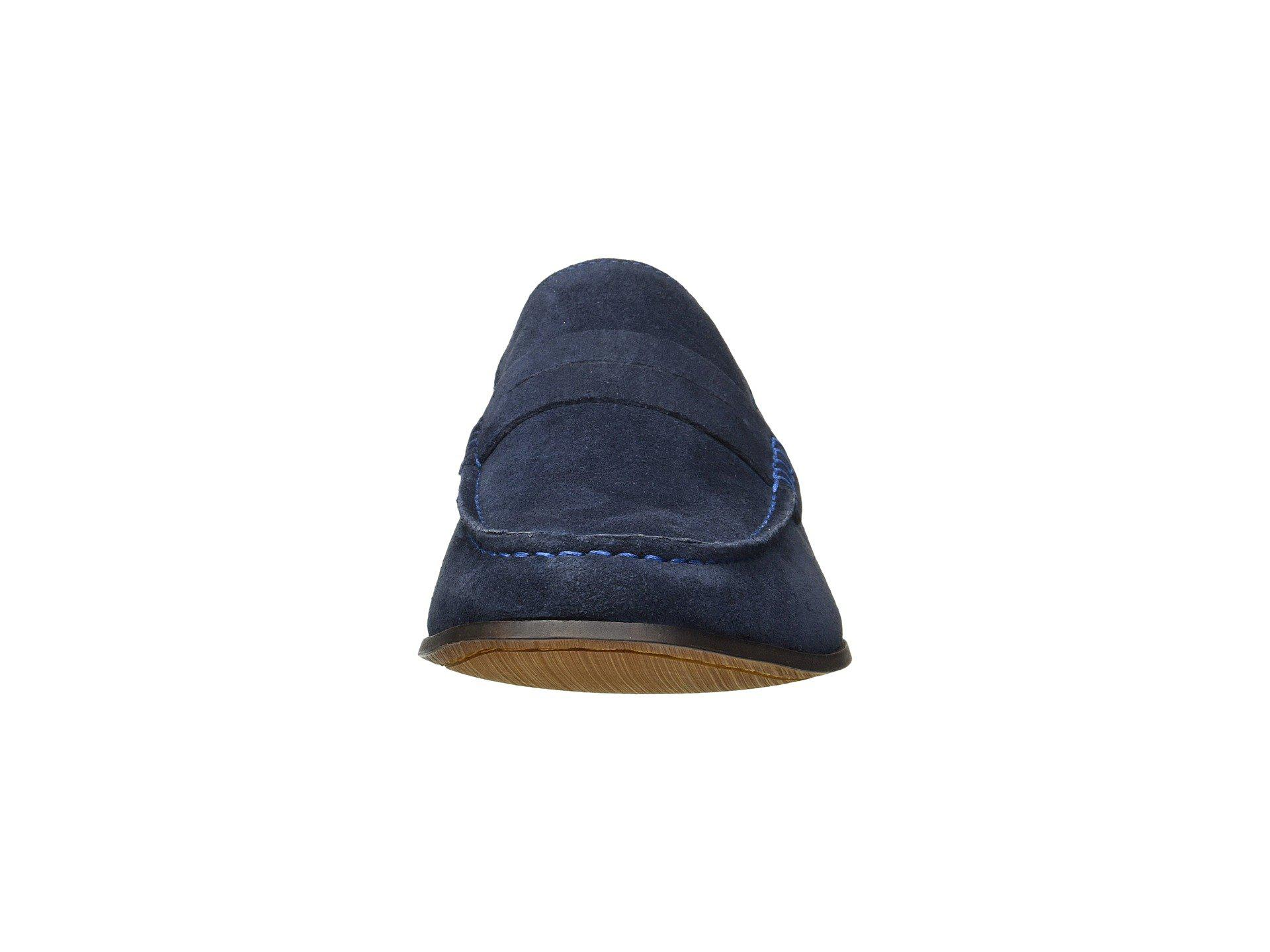 a10b04e57c1 Kenneth Cole Reaction - Blue Crespo Loafer (grey Suede) Men s Slip-on  Dress. View fullscreen