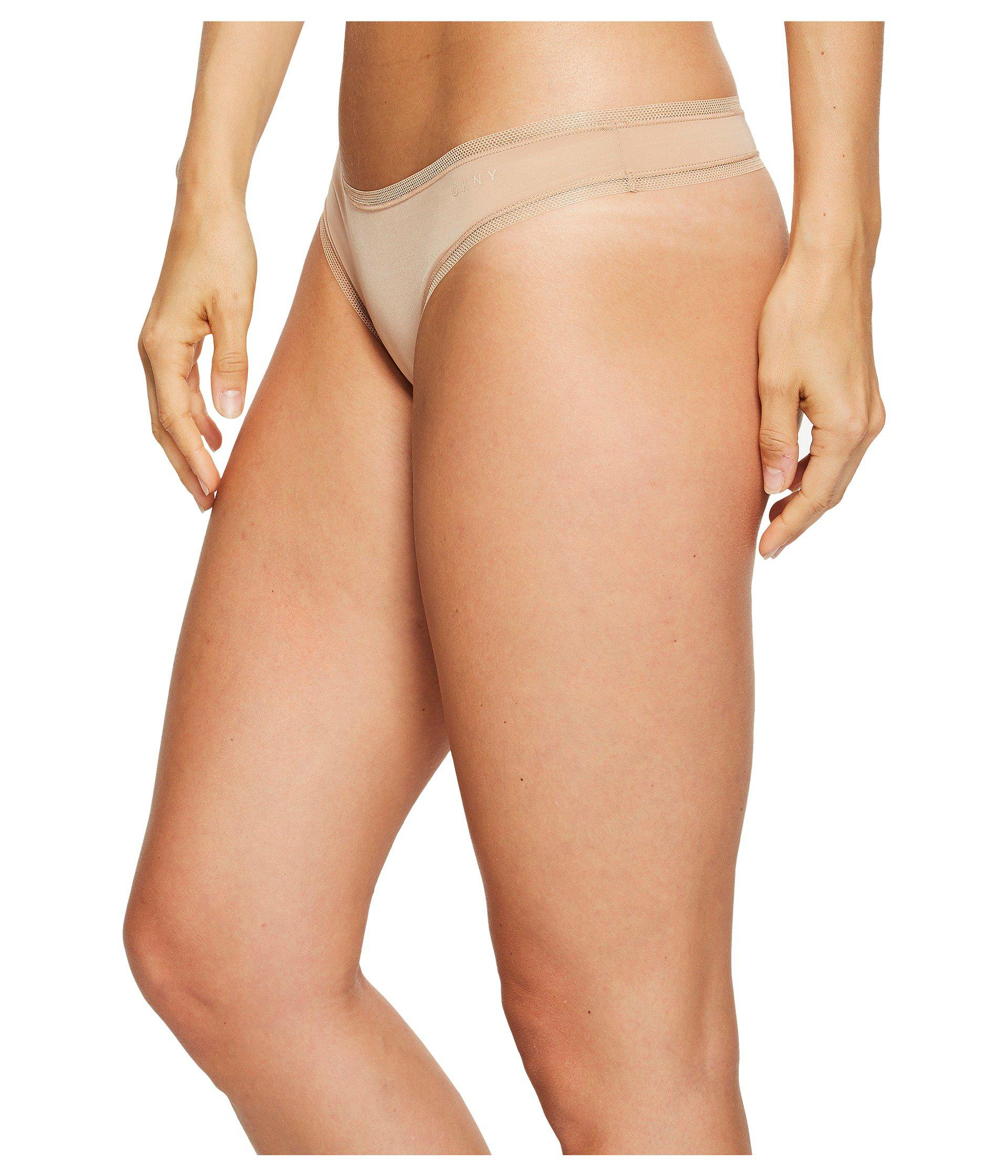 DKNY - Multicolor Three Pack Litewear Thong (glow black vanilla) Women s  Underwear. View fullscreen f78eaa4c1