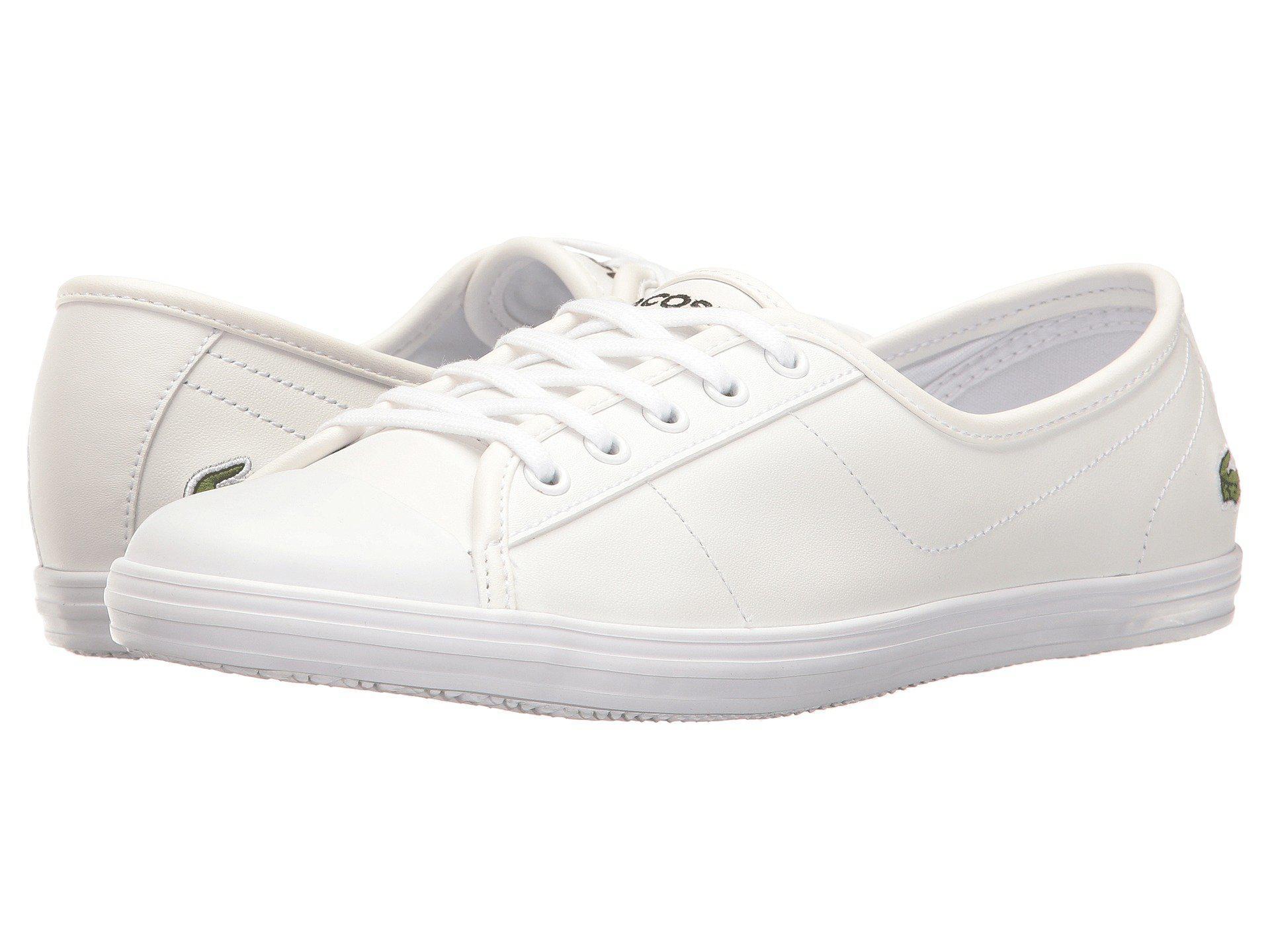 b67375829 Lyst - Lacoste Ziane Bl 1 (navy) Women s Shoes in White
