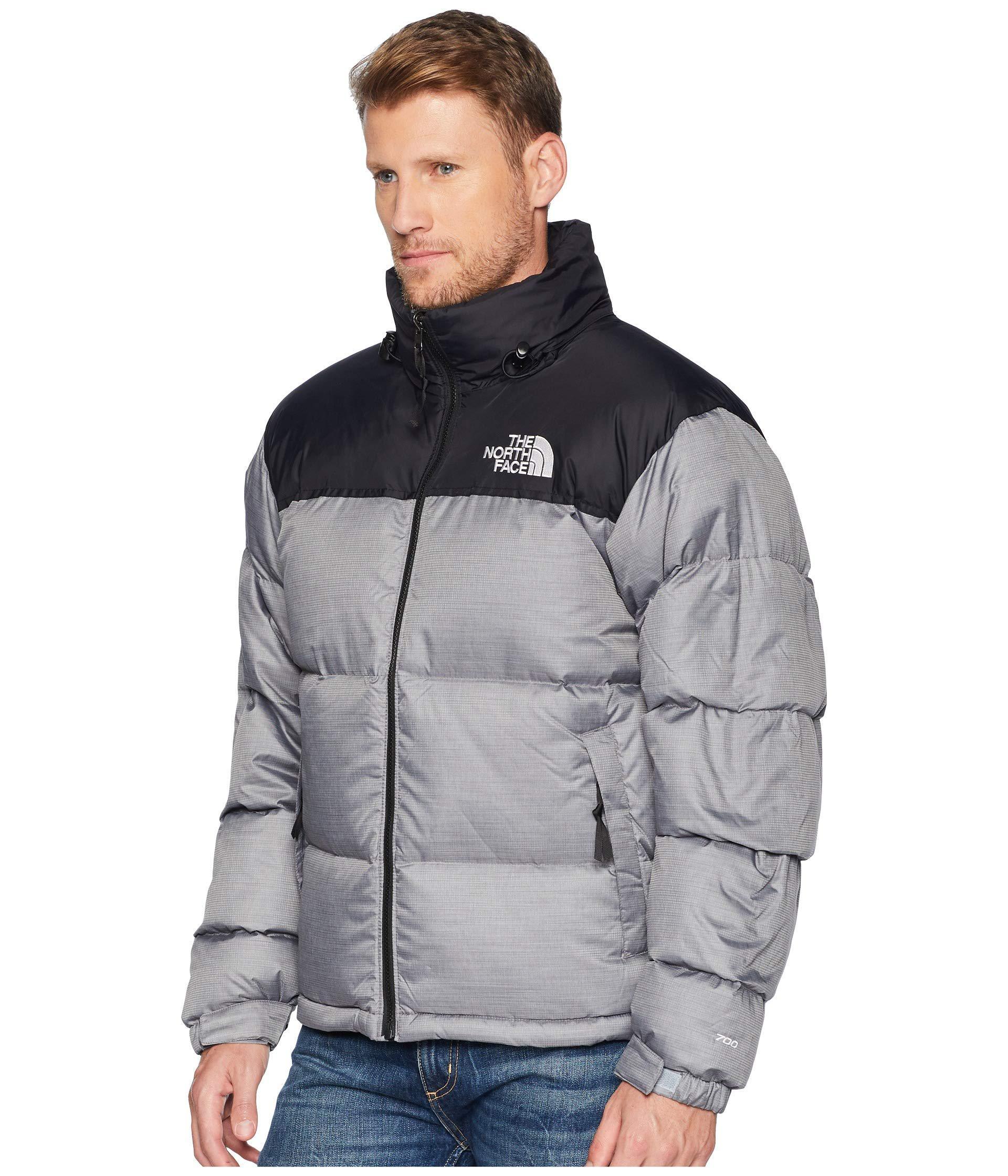 Lyst - The North Face 1996 Nuptse Jacket (tnf Medium Grey Heather) Men s  Coat in Gray for Men 081d52ea5