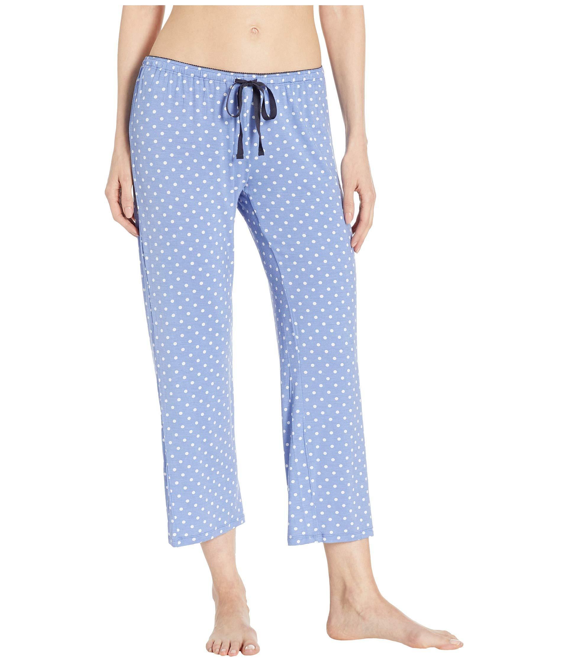 bb973717b5 Lyst - Pj Salvage Polka Dot Pants (peri) Women s Pajama in Blue