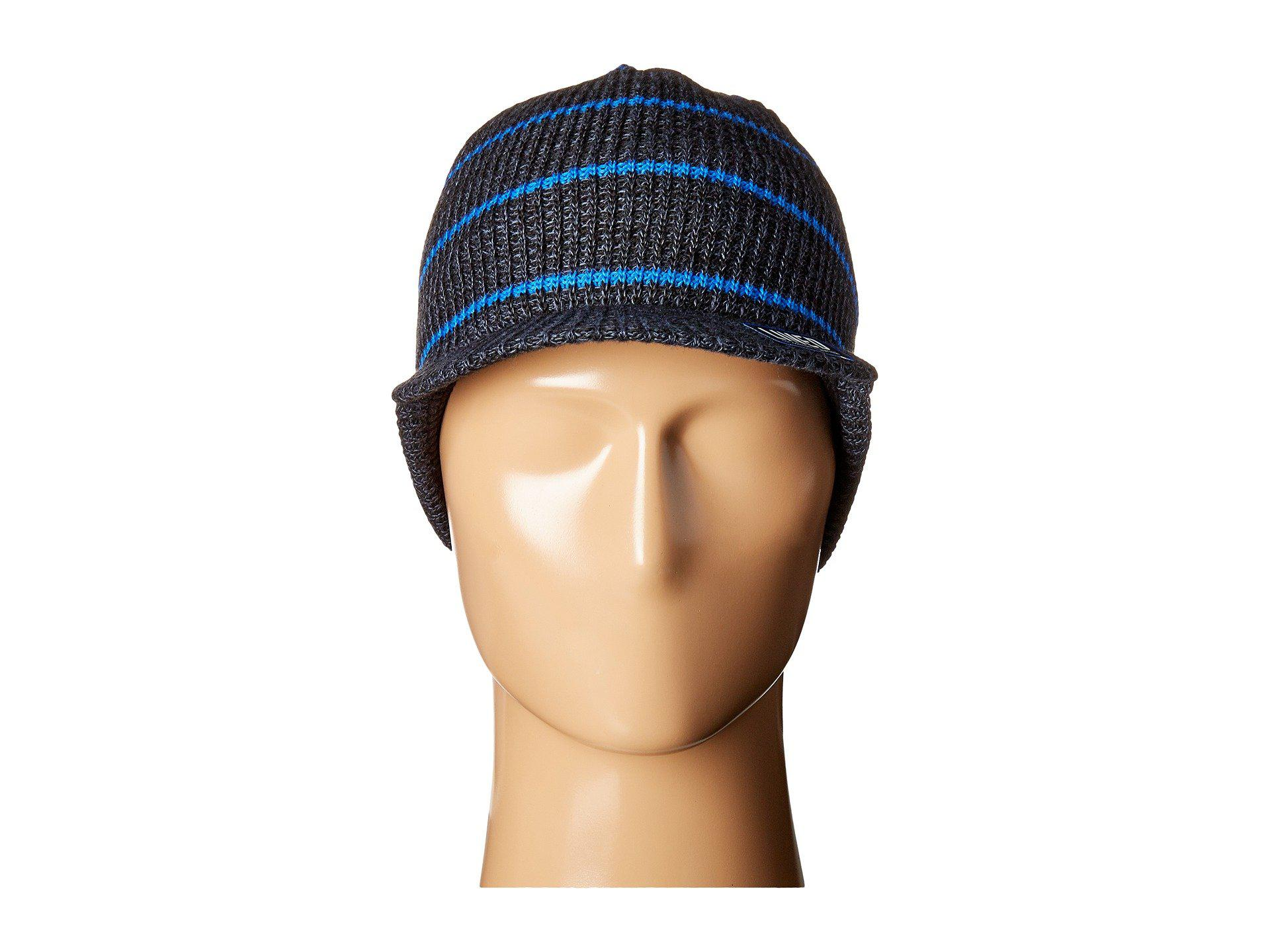 ea4bf2c4 adidas Ace Brimmer (black/deepest Space/blue) Beanies for Men - Lyst