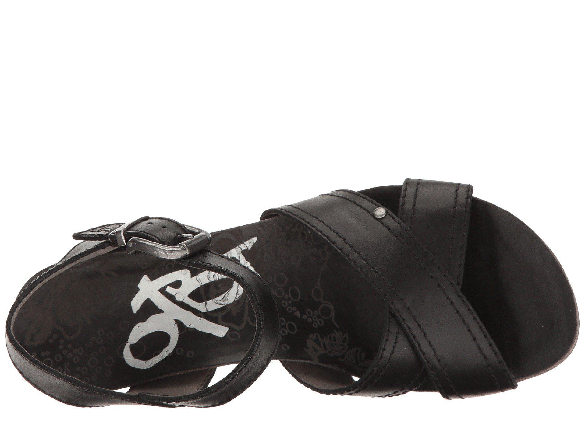 e3fb939ef50 Otbt - Bee Cave (black) Women s Wedge Shoes - Lyst. View fullscreen