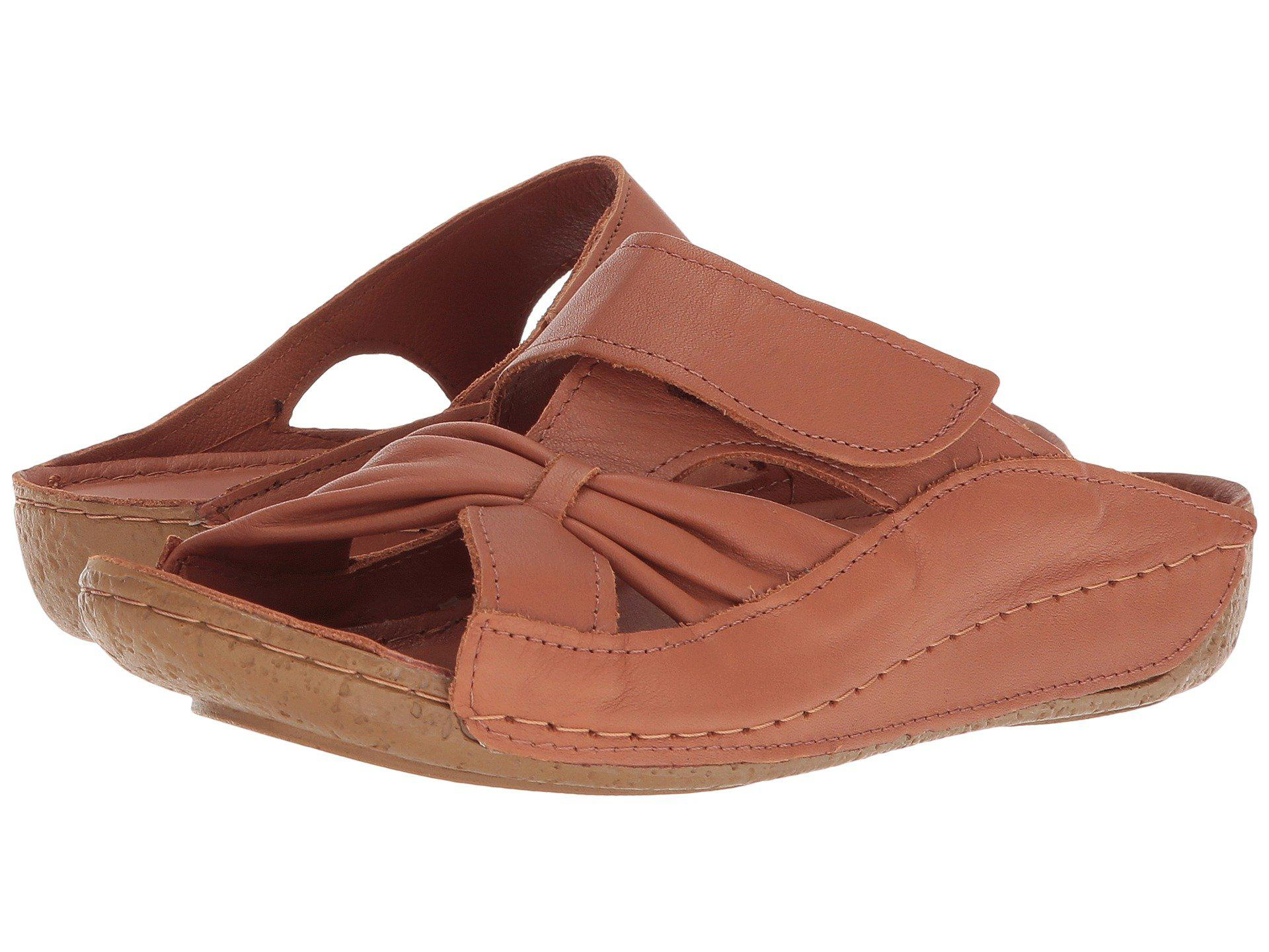Spring Step Gretta Slide(Women's) -Red Leather Footlocker For Sale Sale In China pmGGin
