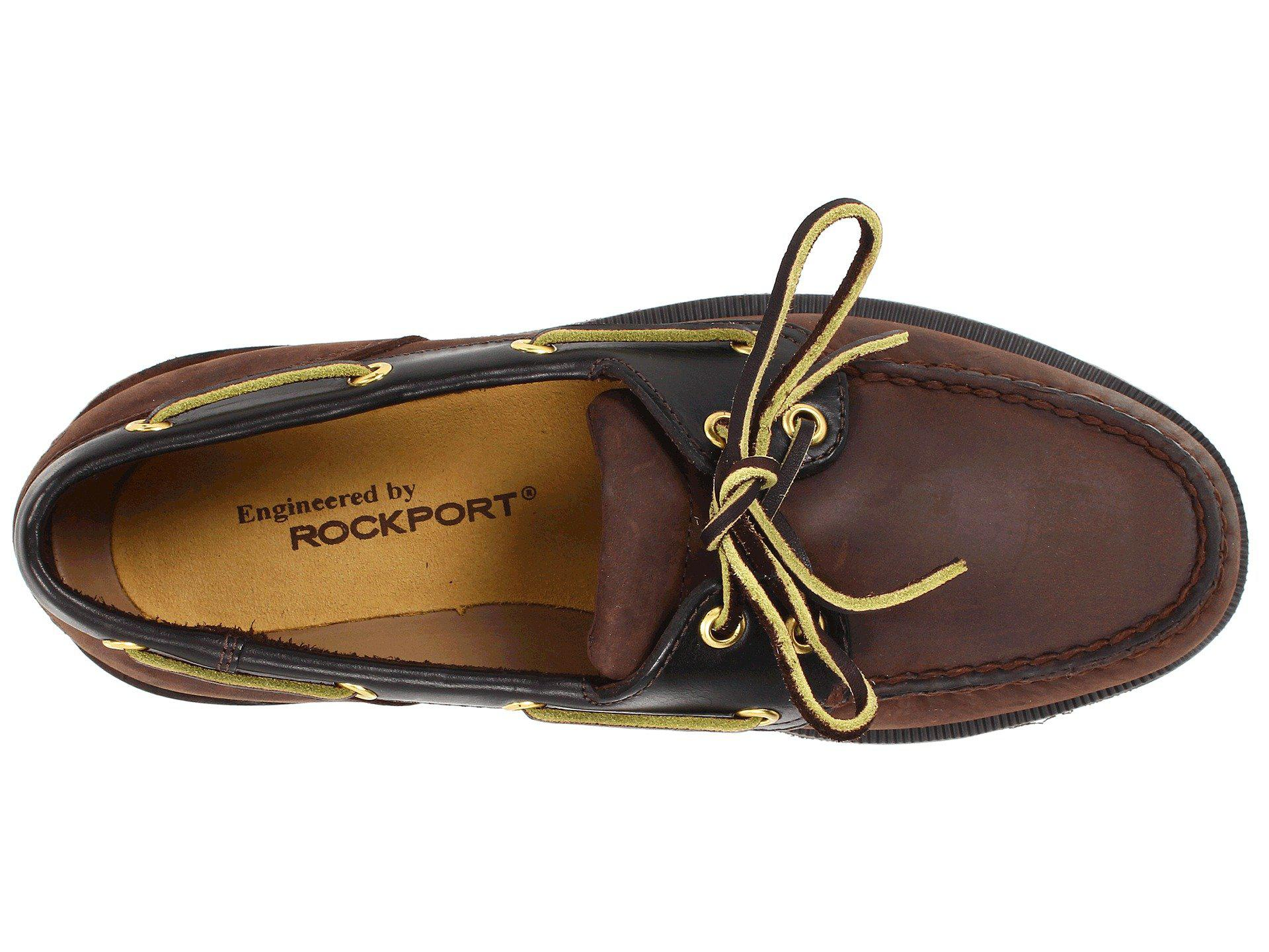 19bc530184 Lyst - Rockport Ports Of Call Perth (taupe Nubuck beeswax Leather ...