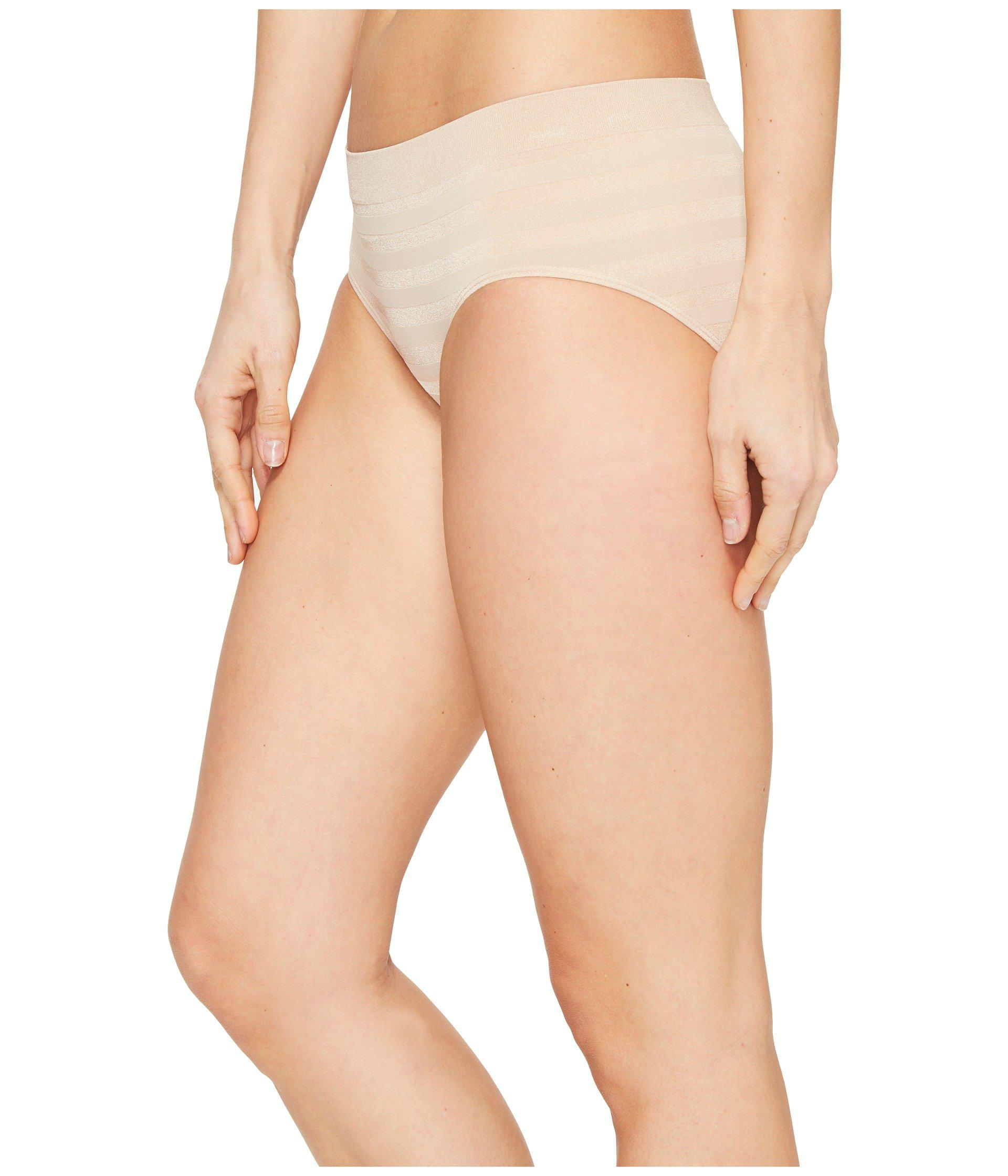a9c425050a1b5 Lyst - Jockey Comfies(r) Matte Shine Hipster (light) Women s Underwear in  Natural