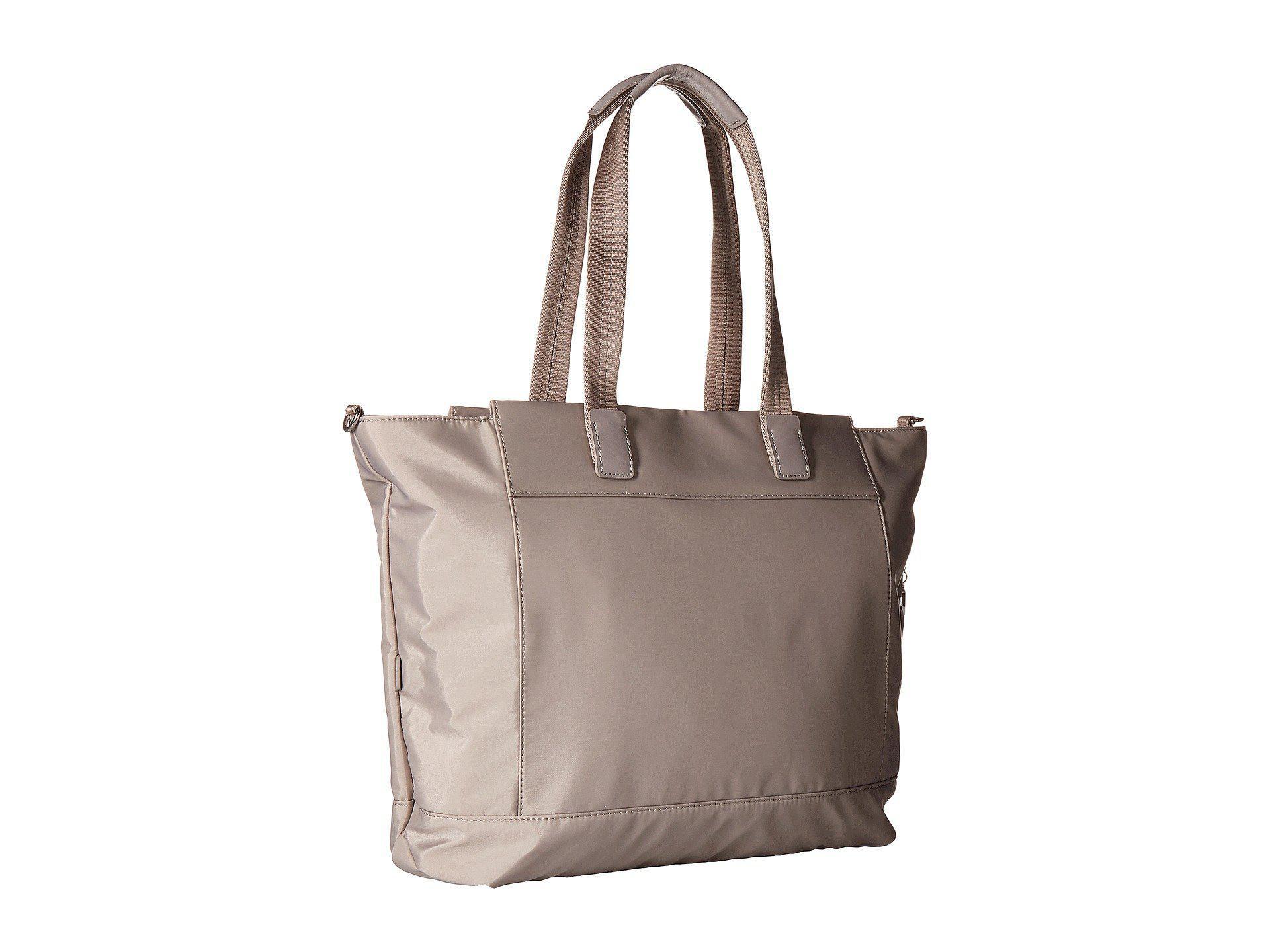 ef3bd980febf Hedgren - Multicolor Glaze Rfid Large Tote (zinc) Tote Handbags - Lyst.  View fullscreen