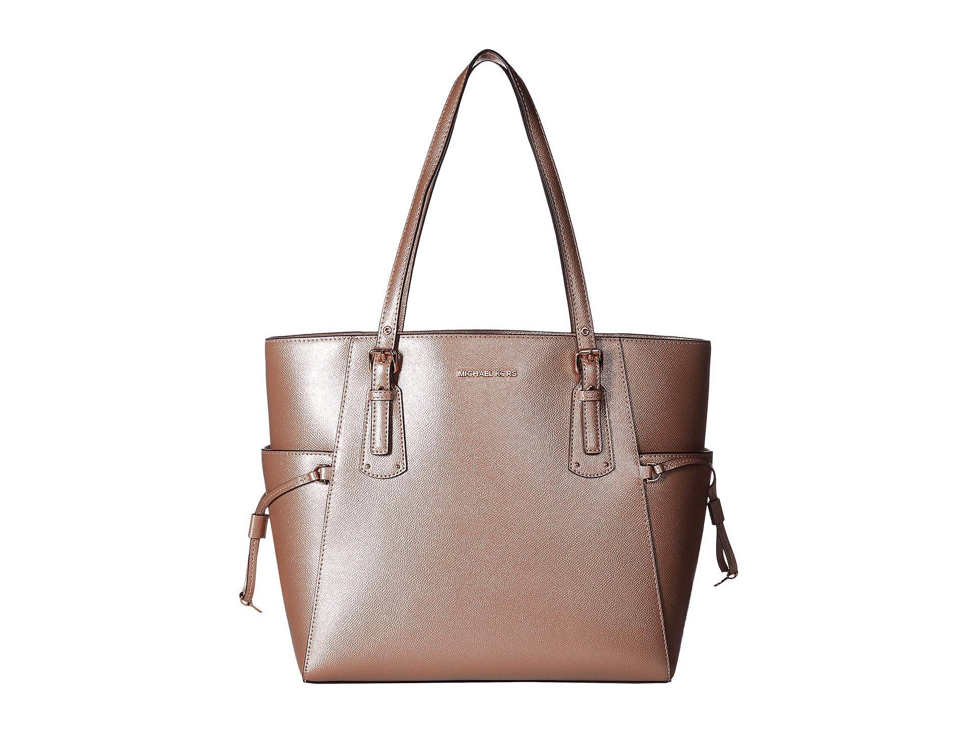 bbb227f54a Lyst - MICHAEL Michael Kors Voyager East west Tote (ballet) Tote ...