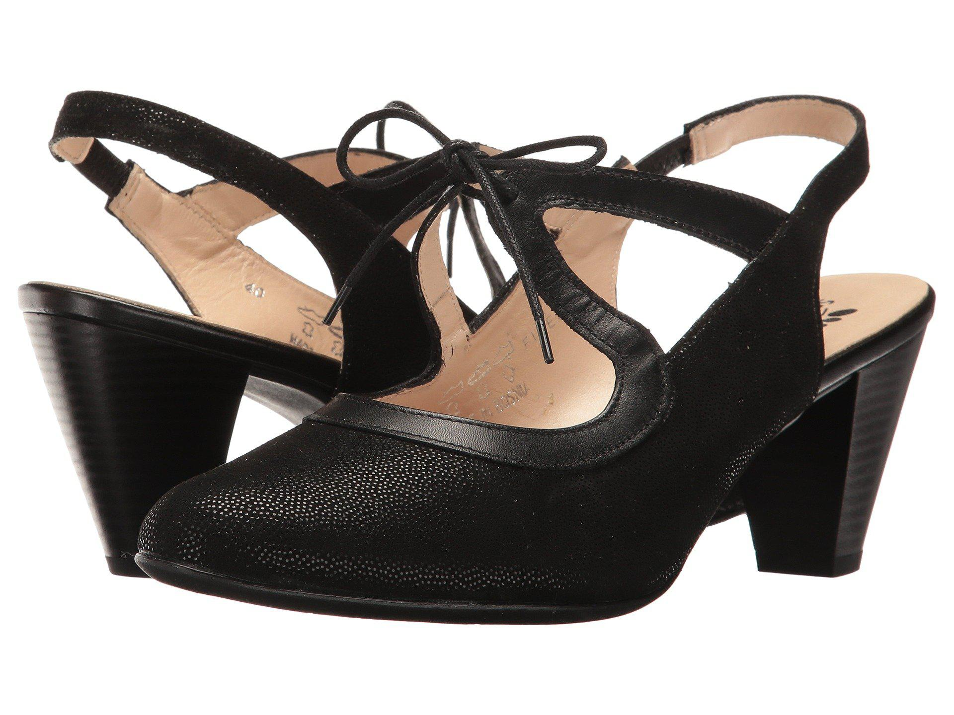 Spring Step Finesse Lace Up Slingback (Women's) wifN8w