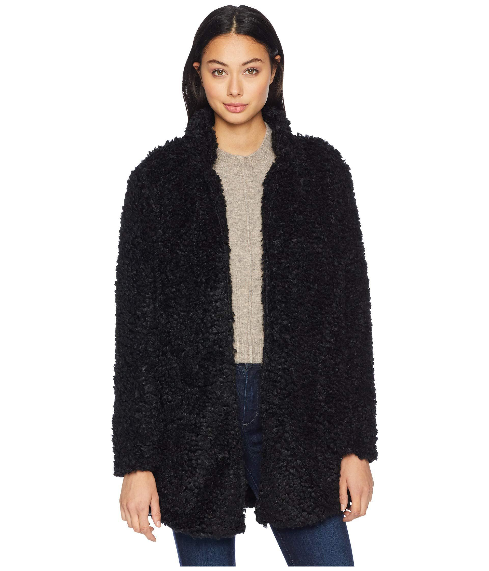 34ff77836f5 Lyst - Bishop + Young Faux Fur Jacket (black) Women s Coat in Black