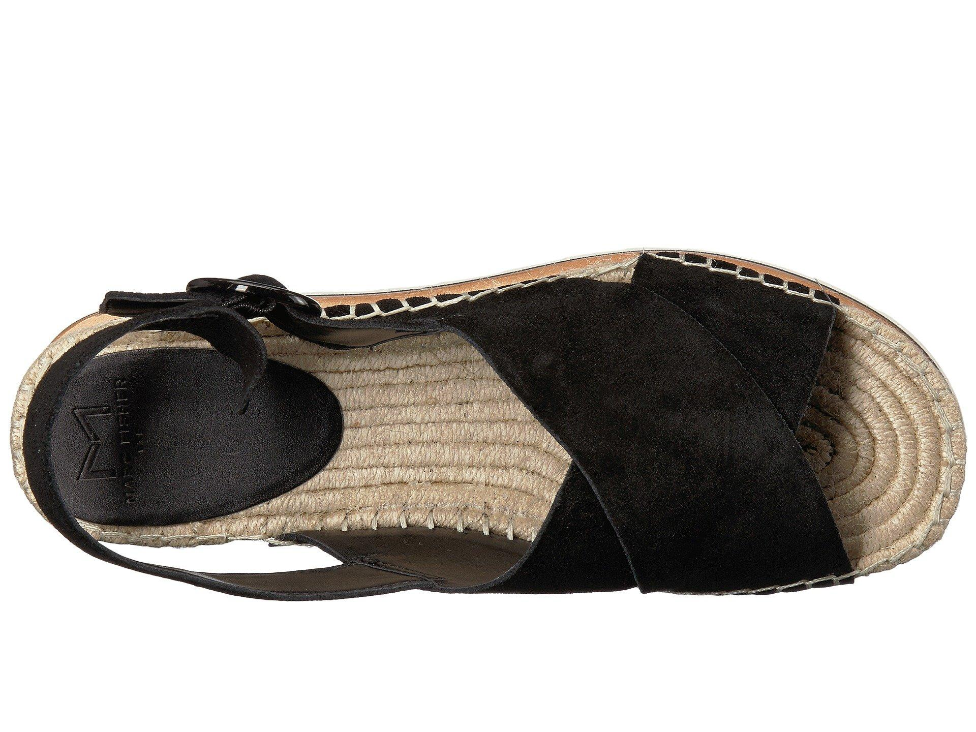 fb3085003426 Lyst - Marc Fisher Glenna (light Gray Suede) Women s Shoes in Black