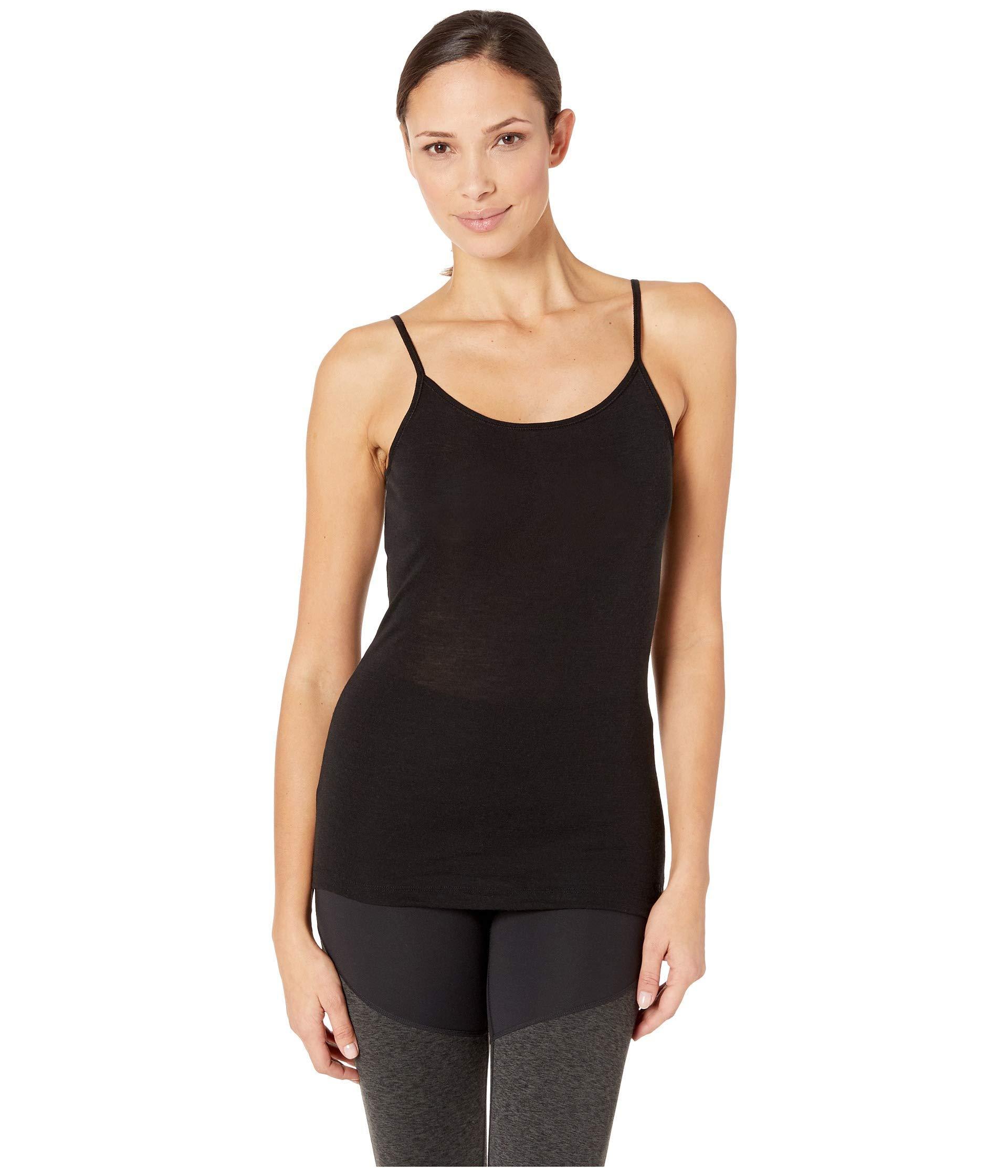d337f829d2 Lyst - Icebreaker 175 Everyday Merino Cami (black) Women's Clothing ...