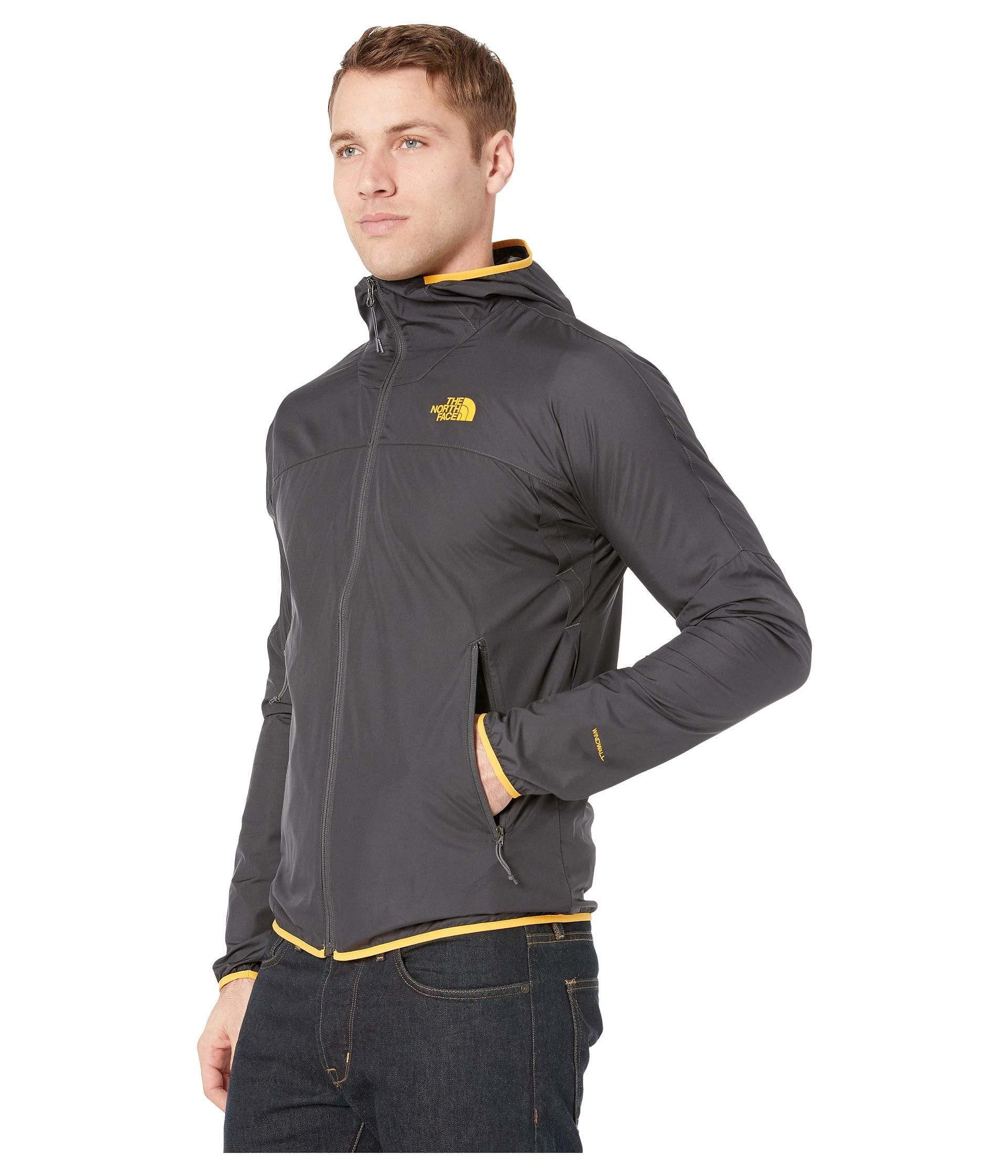 68ec50fa9269f Lyst - The North Face Flyweight Hoodie (tnf Black) Men s Coat in Gray for  Men