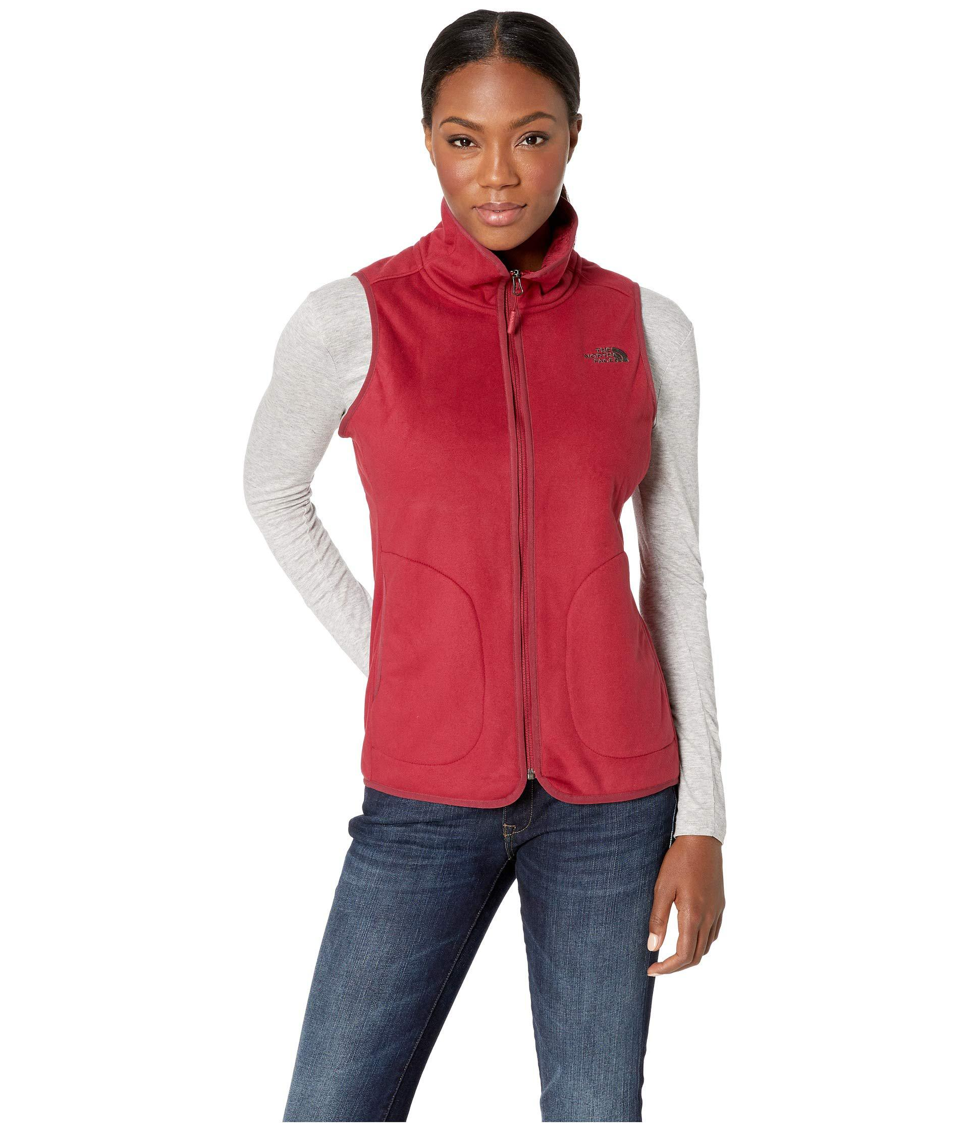 7b30ceefac1f Lyst - The North Face Mosswood Vest (tnf Black) Women s Vest in Red