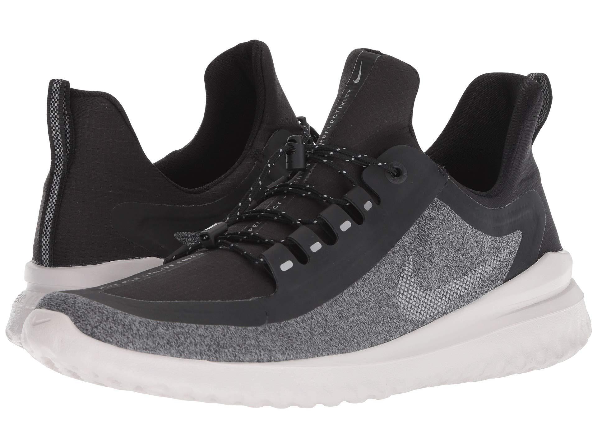 d3ca92896cf2 Nike. Renew Rival Shield (black metallic Silver cool Grey) Men s Running  Shoes