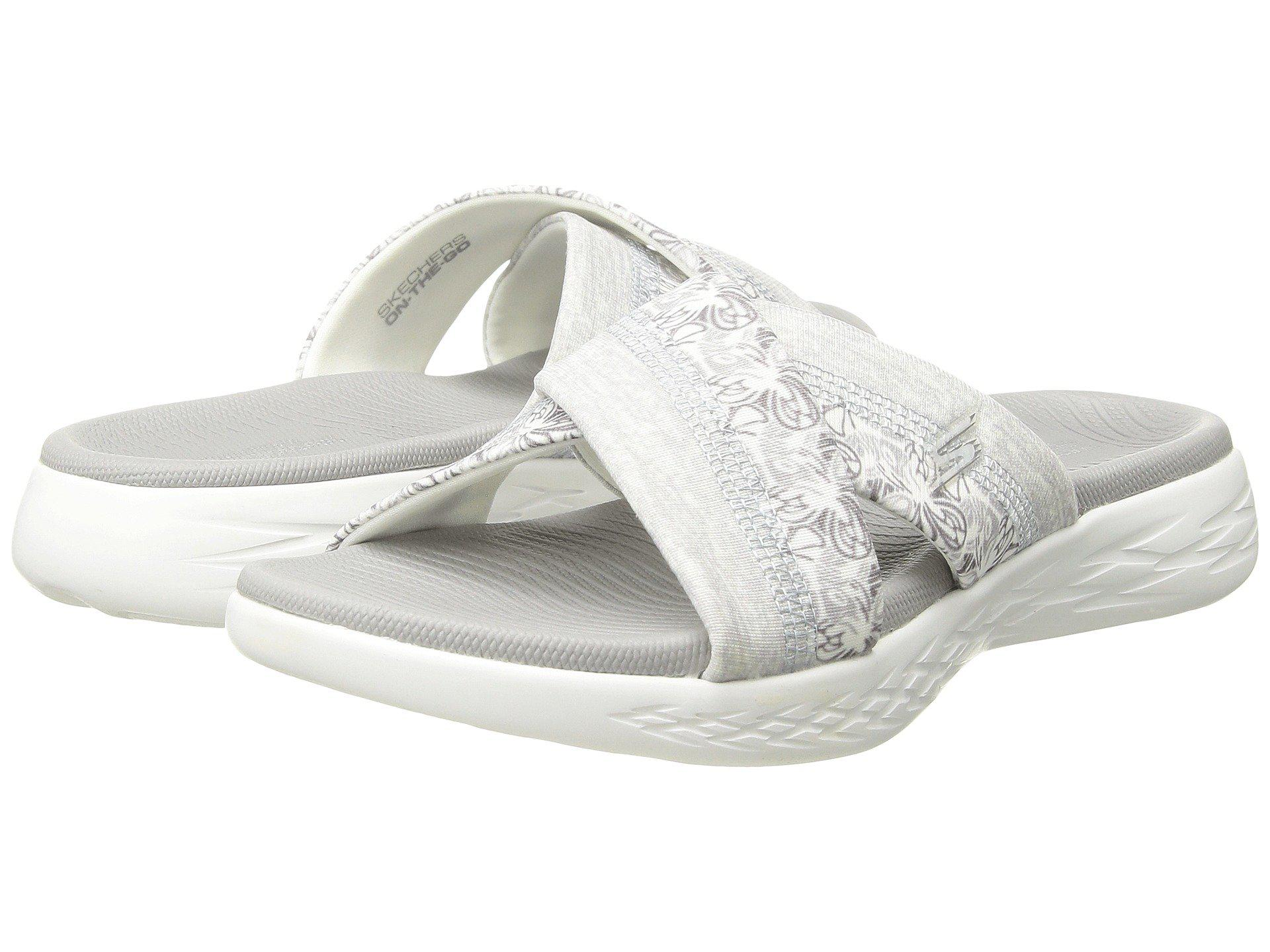1a3c883f672c Skechers - White On-the-go 600 - Monarch (black) Women s Sandals. View  fullscreen