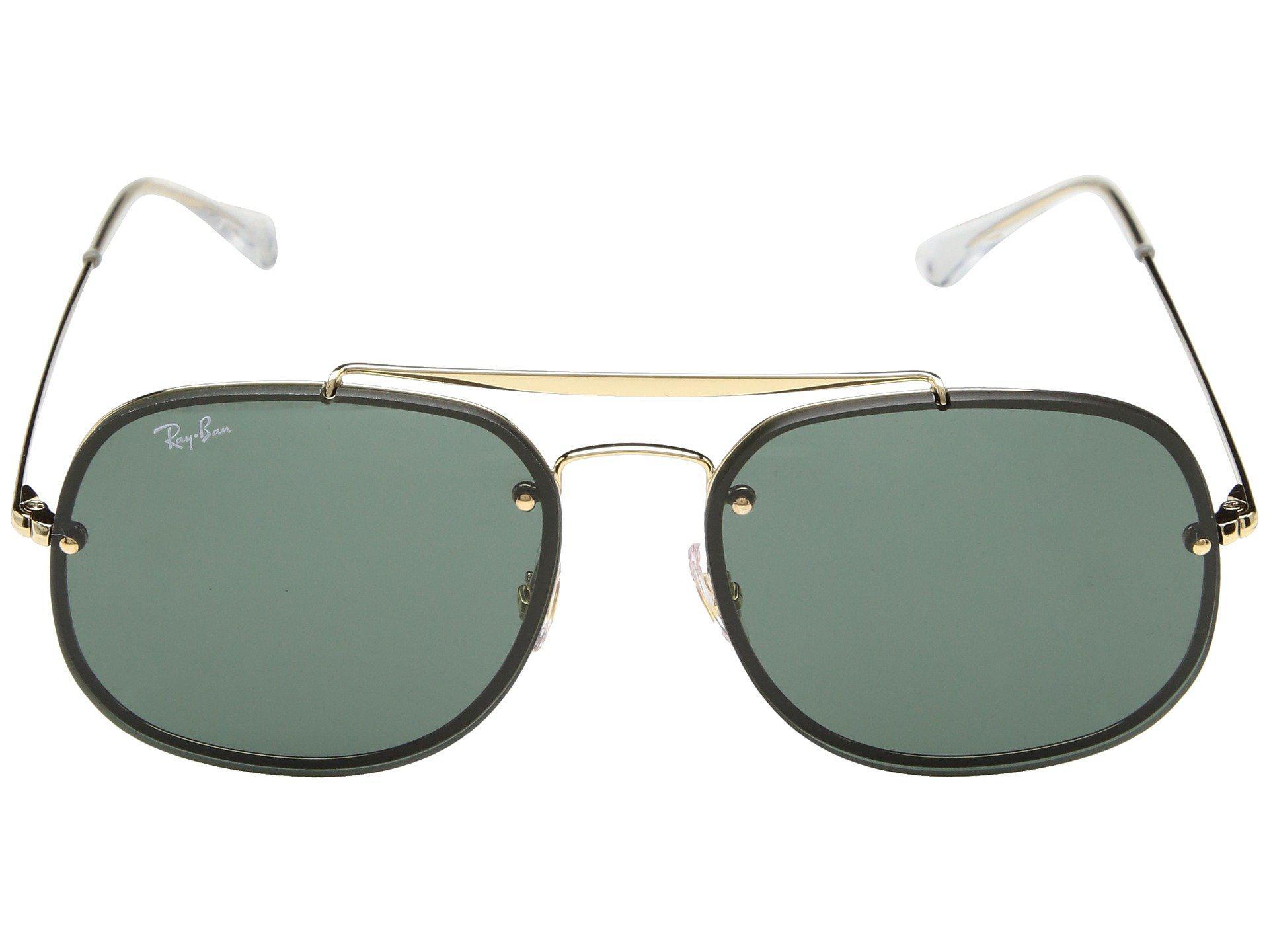 1a500a0afa Ray-Ban - Green Blaze General Rb3583n 58mm (gunmetal brown Gradient) Fashion.  View fullscreen