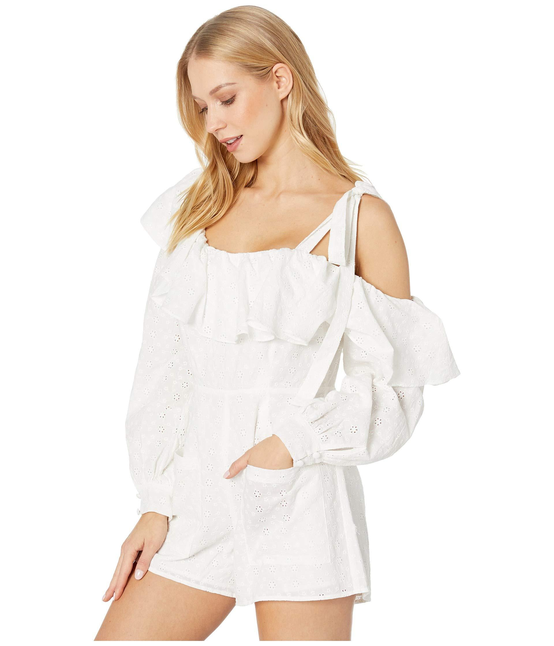 8607d91ee72a Lyst - For Love   Lemons Bora Bora Romper (white) Women s Jumpsuit   Rompers  One Piece in White
