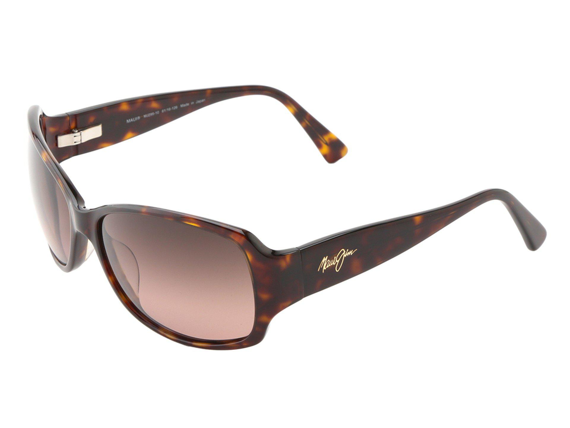 ce257640912 Lyst - Maui Jim Nalani (tortoise W  White And Blue hcl Bronze ...