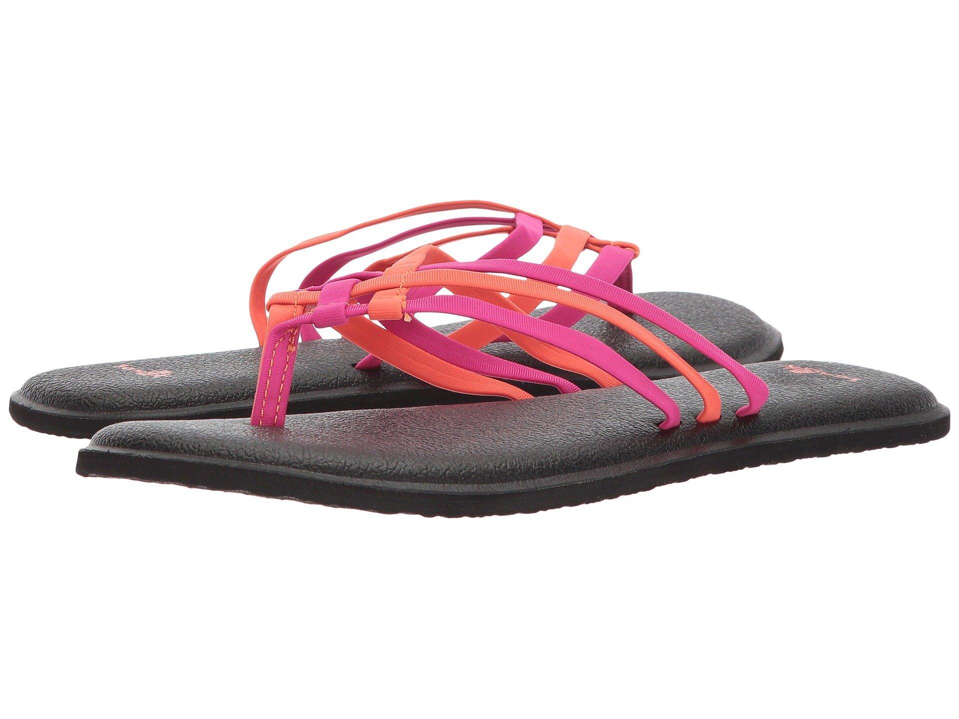 6dd3ca8a4 Lyst - Sanuk Yoga Salty (black 2) Women s Sandals