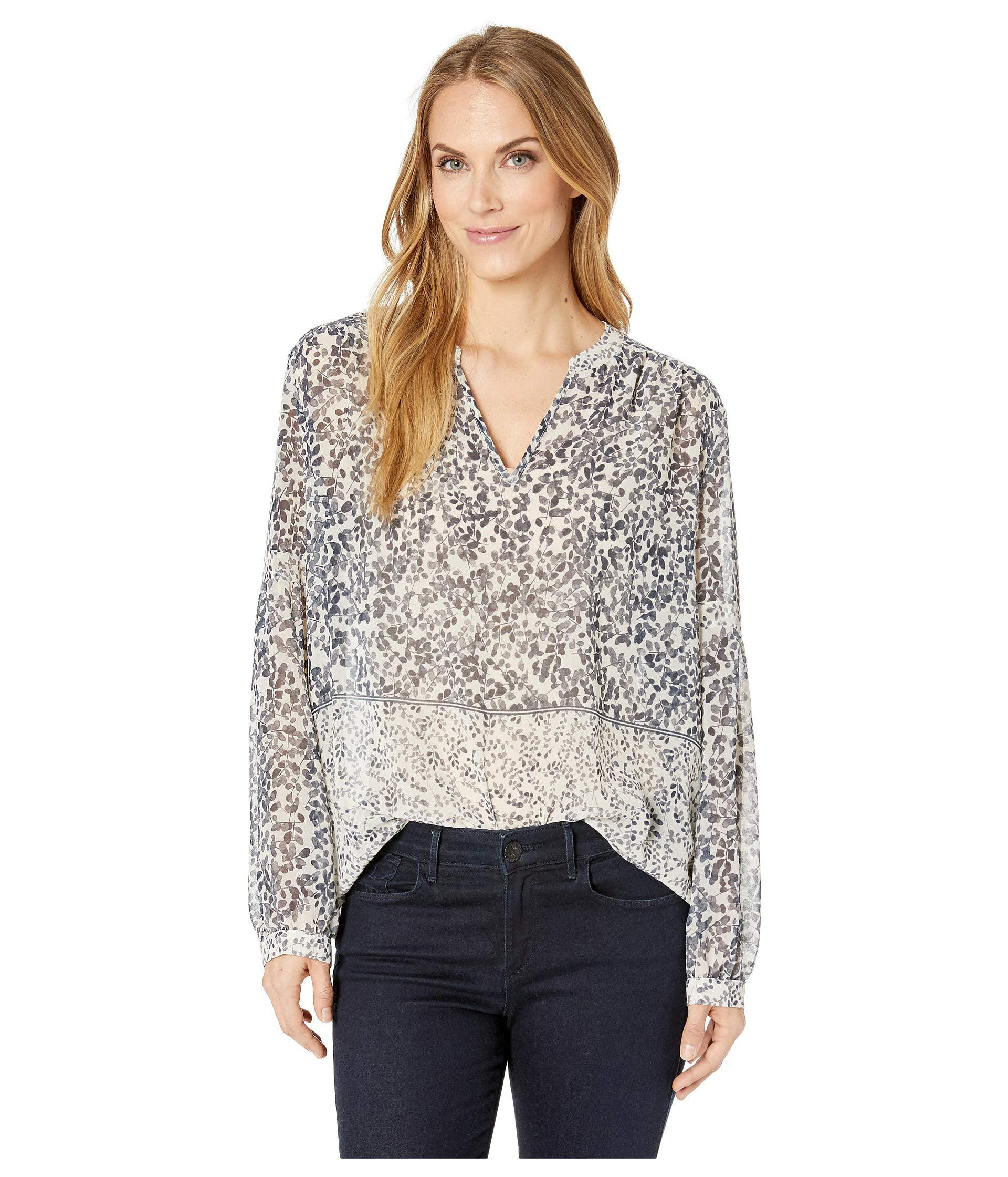 7c095ecb3c Lyst - Two By Vince Camuto Long Sleeve Tranquil Petals Peasant ...