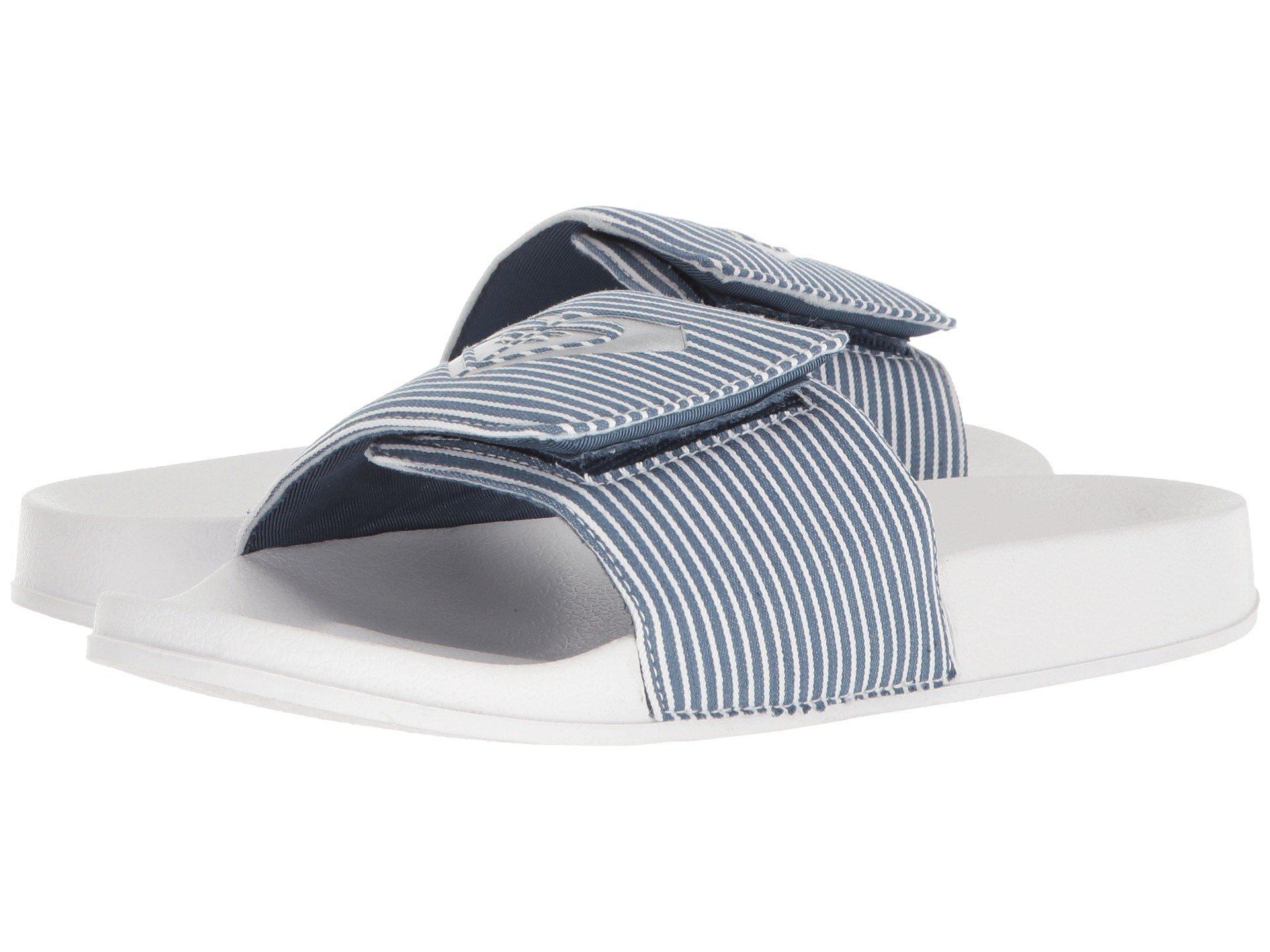 ab81c6619119 Lyst - Roxy Slippy Textile (grey) Women s Slide Shoes in Blue