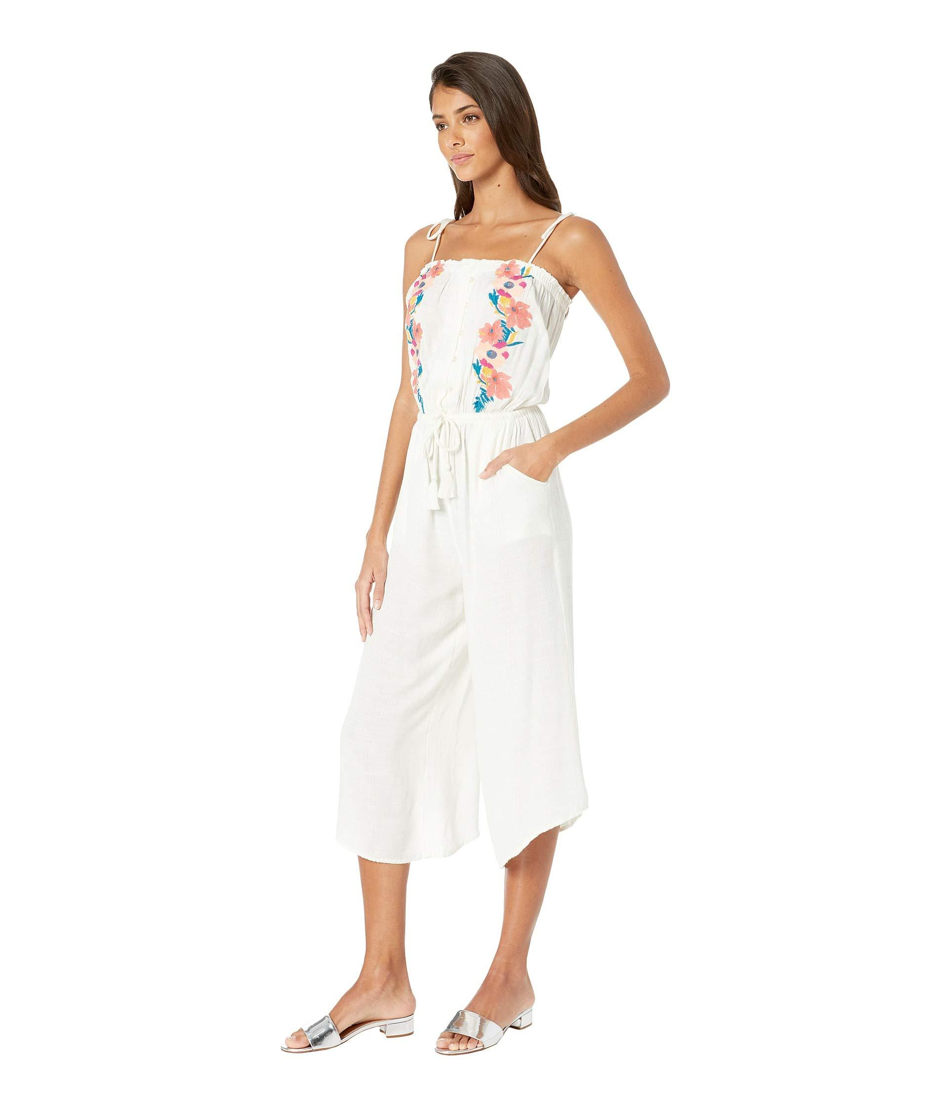 cfc951d64437 Lyst - Rip Curl Cali Dreaming Jumpsuit (vanilla) Women s Jumpsuit   Rompers  One Piece in White