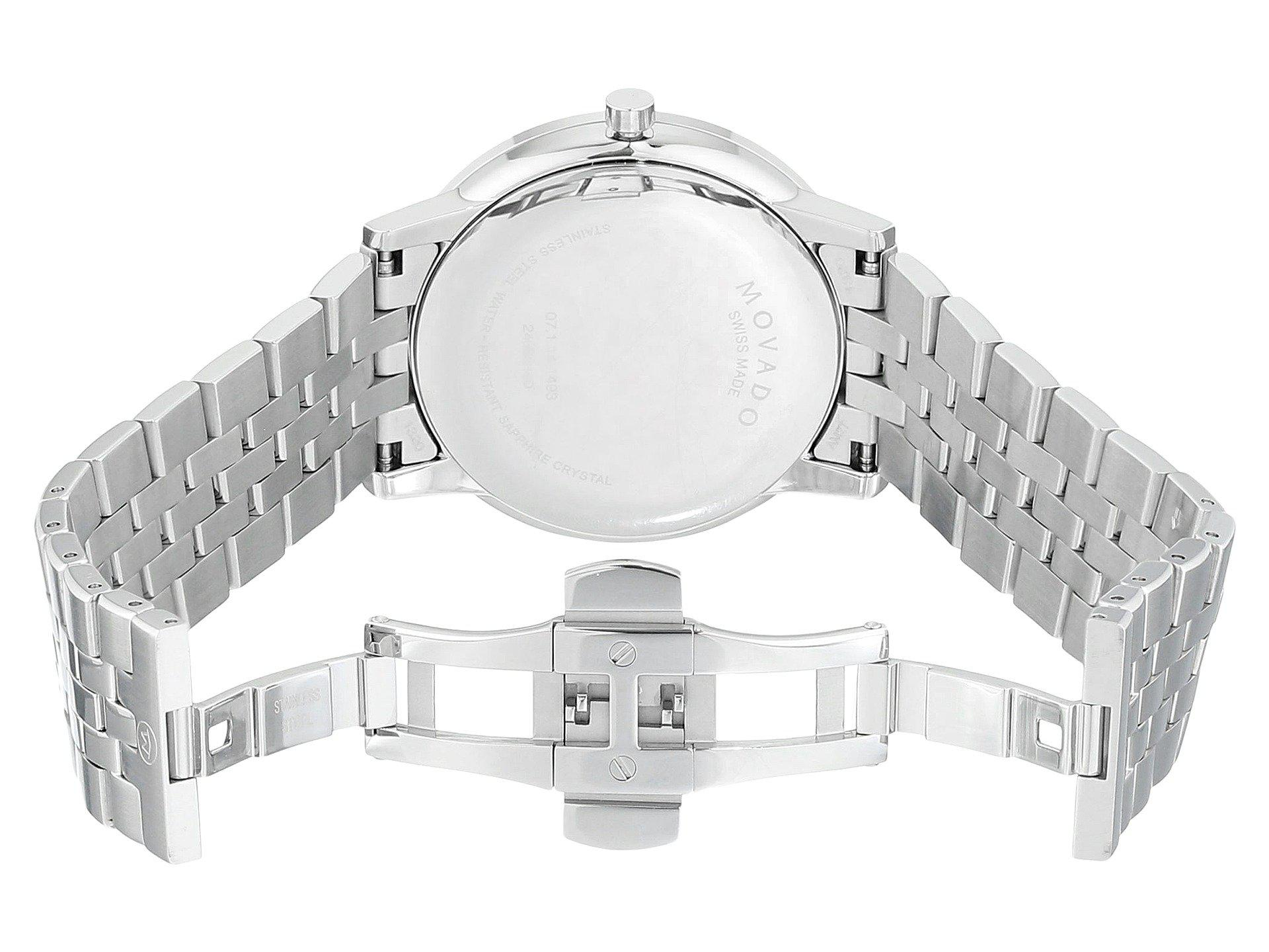 5ee6004c25f34 Lyst - Movado Core-museum Classic - 0607199 (stainless Steel) Dress ...