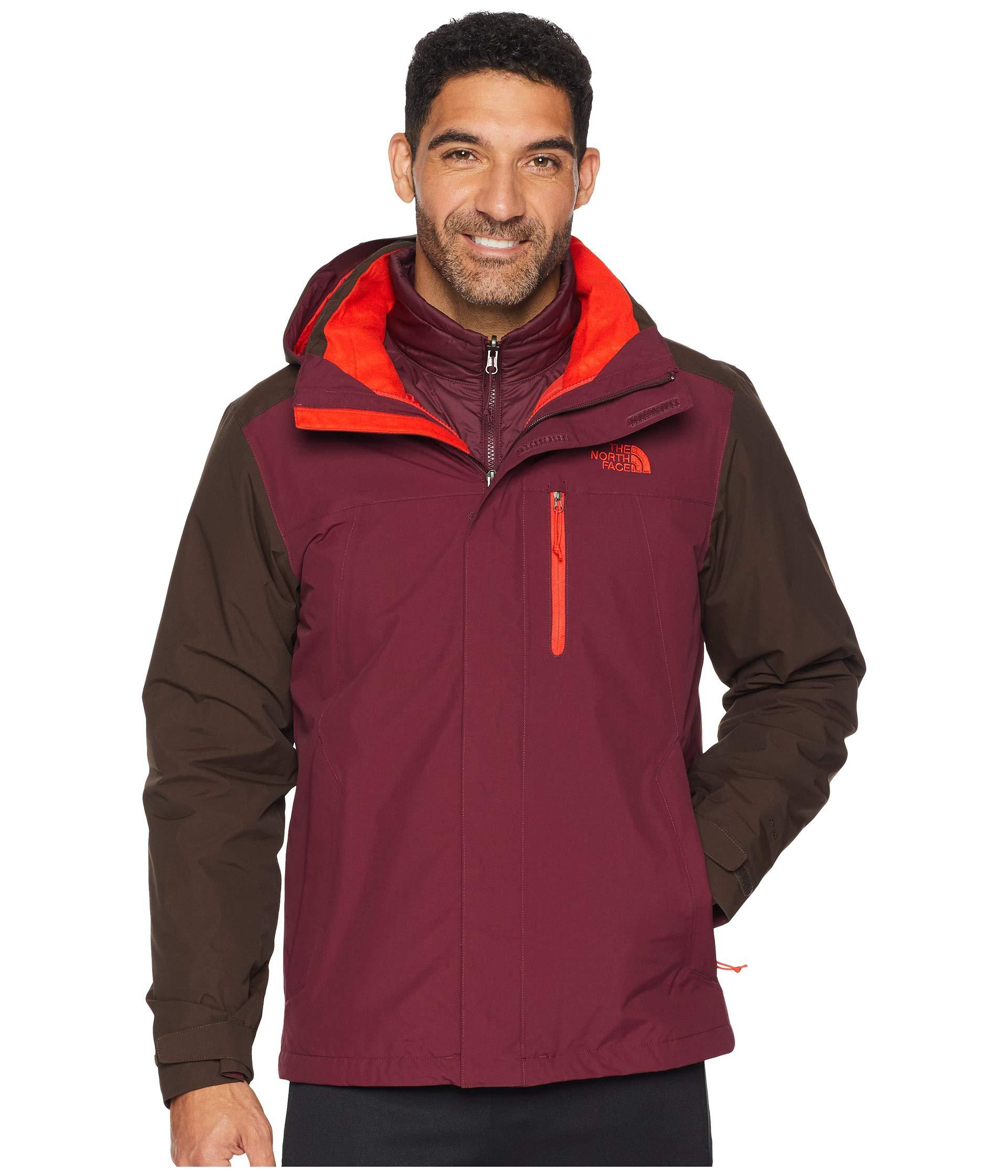 26f9f7e168 The North Face. Carto Triclimate Jacket (bittersweet Brown fig) Men s Coat