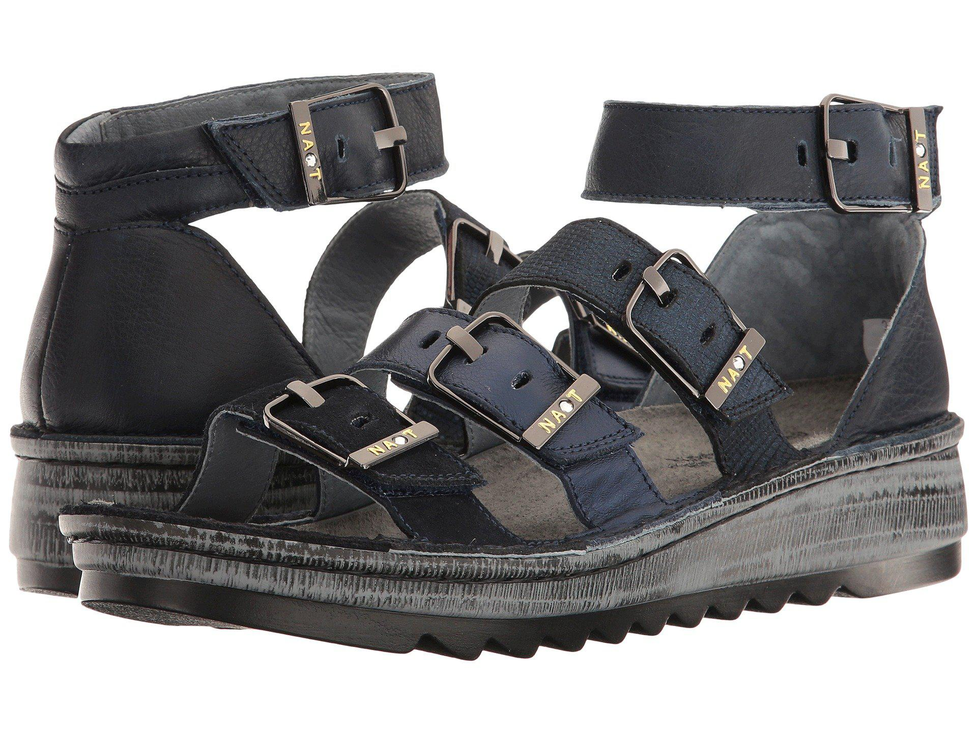 22af84e23a57 Naot. Begonia (mine Brown hash Suede brown Croc Leather volcanic Brown  Leather) Women s Sandals