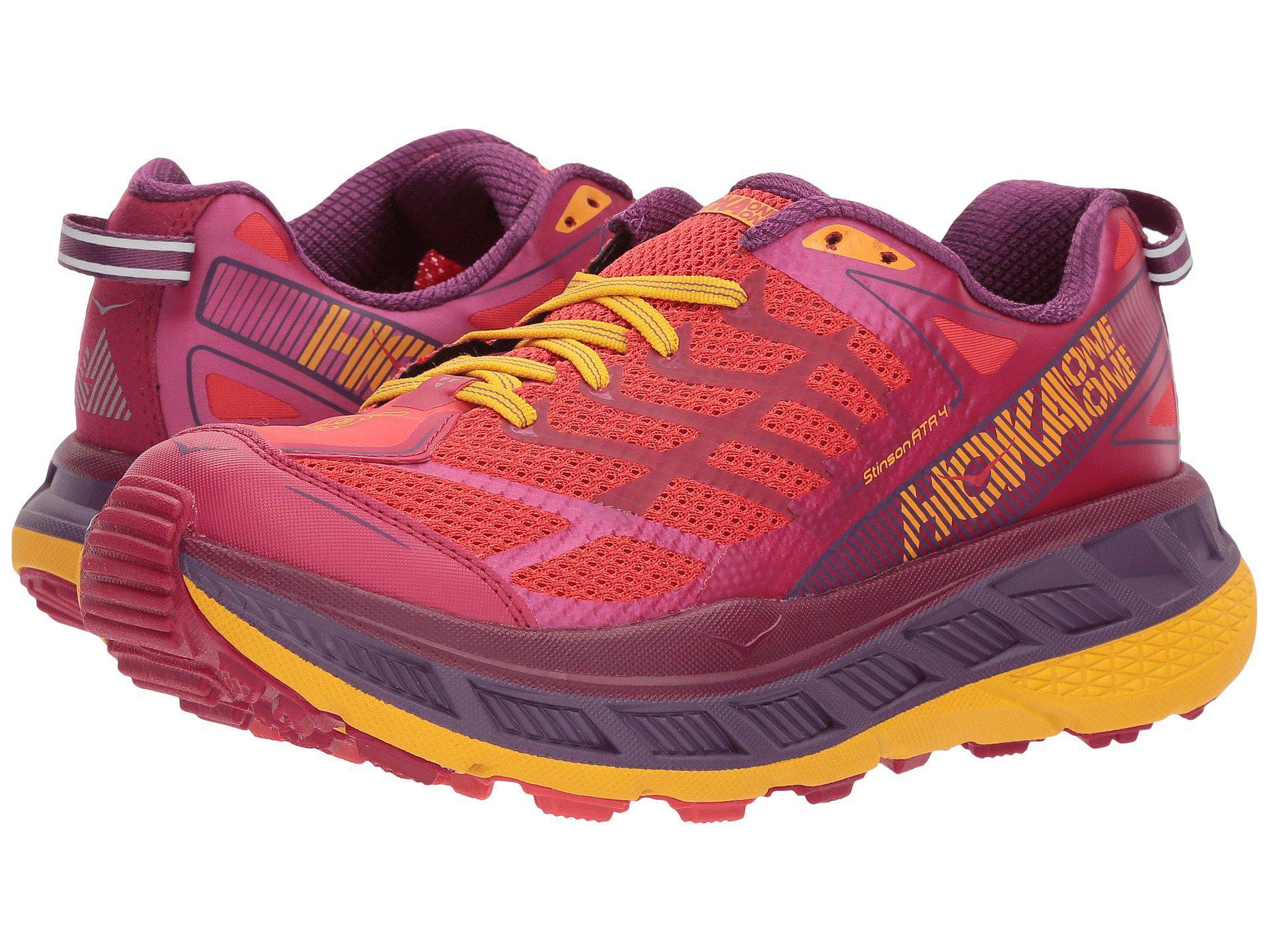 54b422028dd3 Hoka One One. Stinson Atr 4 (marlin neon Coral) Women s Running Shoes