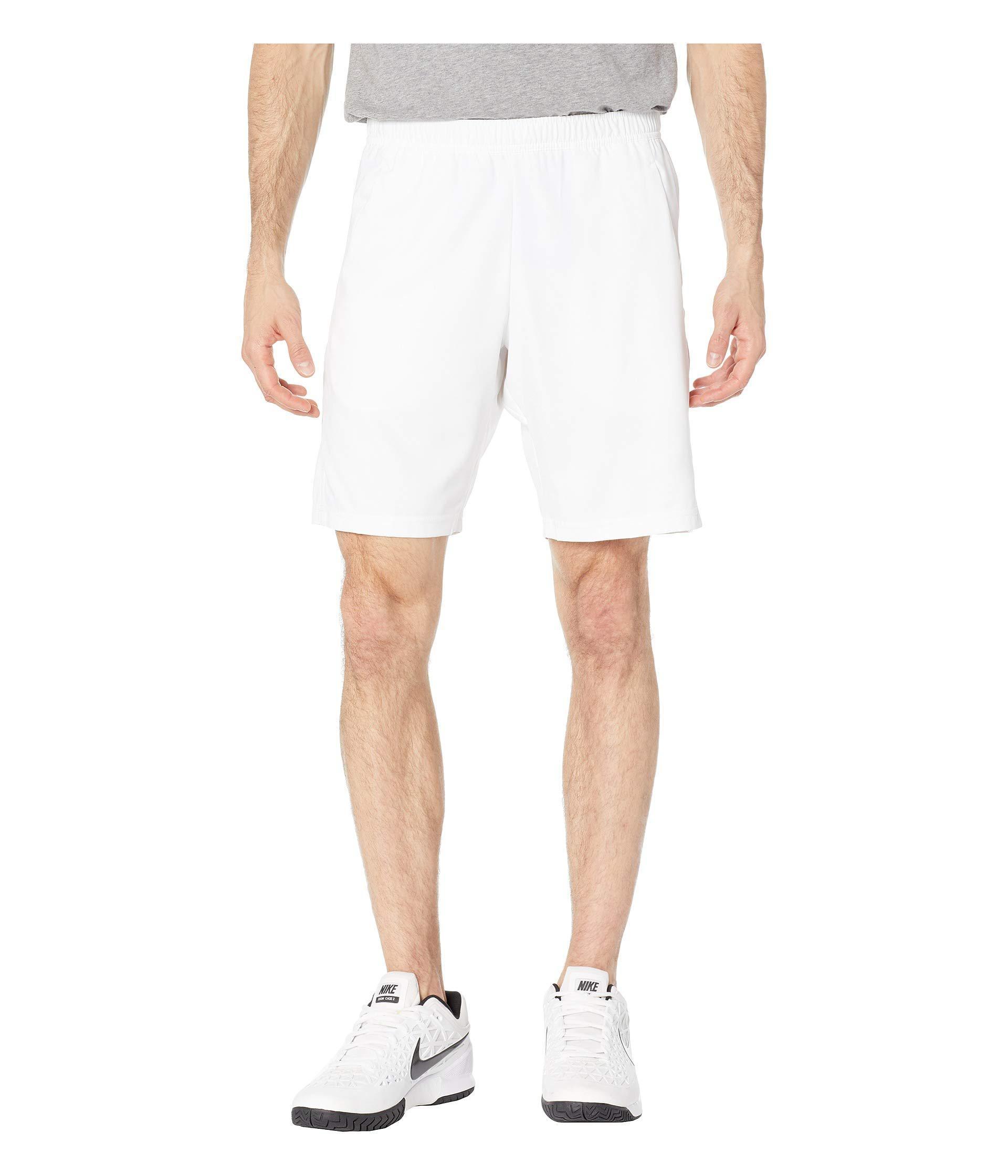 6410d40d7 Nike - Court Dry Shorts 9 (black/white/white) Men's Shorts for. View  fullscreen