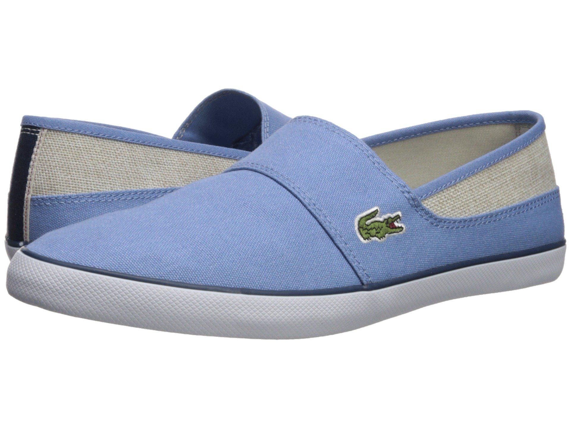 0a2abd927210 Lyst - Lacoste Marice 218 1 (natural natural) Men s Shoes in Blue ...