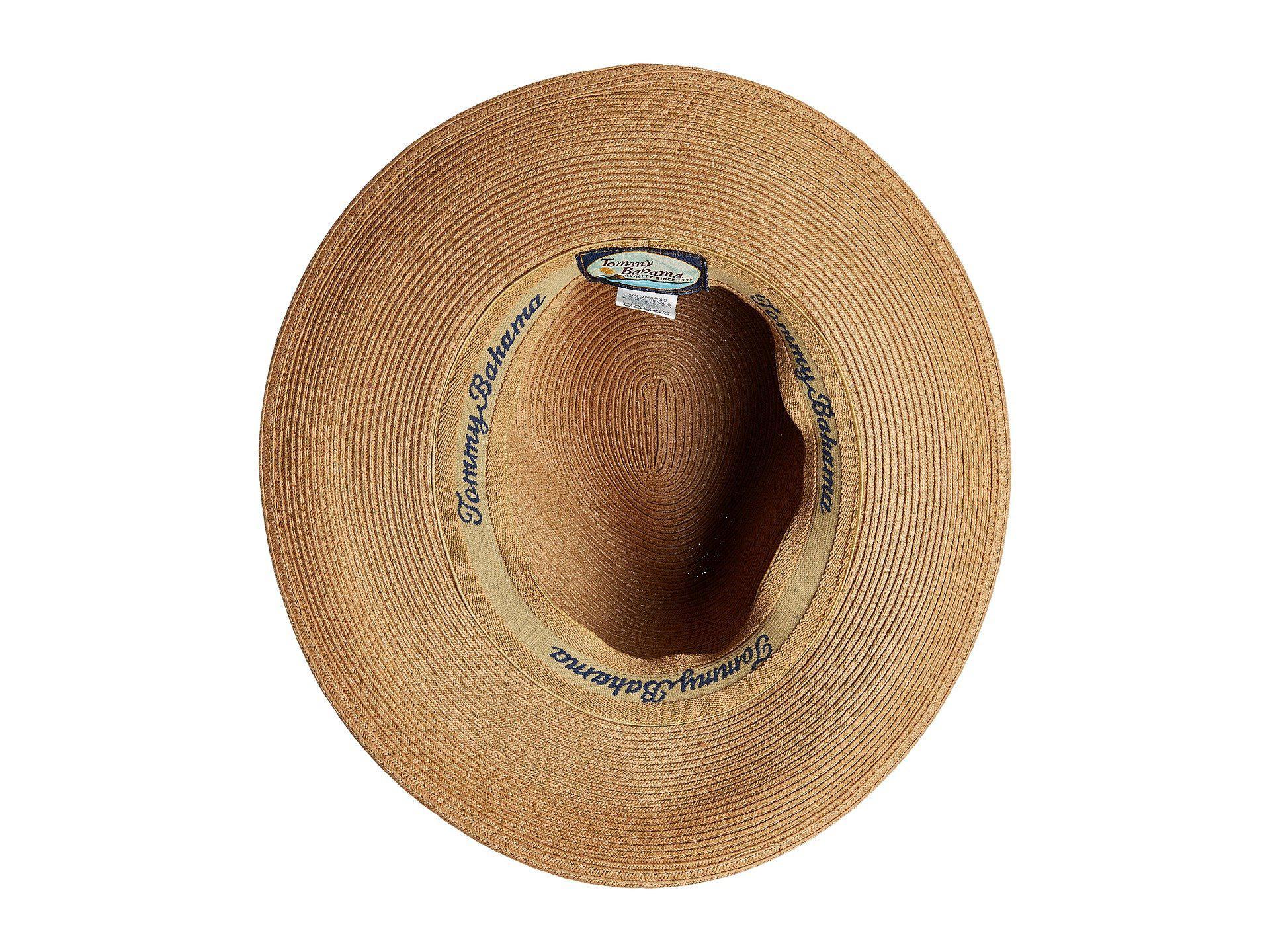 2ec35feb17c Tommy Bahama - Multicolor Fine Braid Safari (tea) Caps for Men - Lyst. View  fullscreen